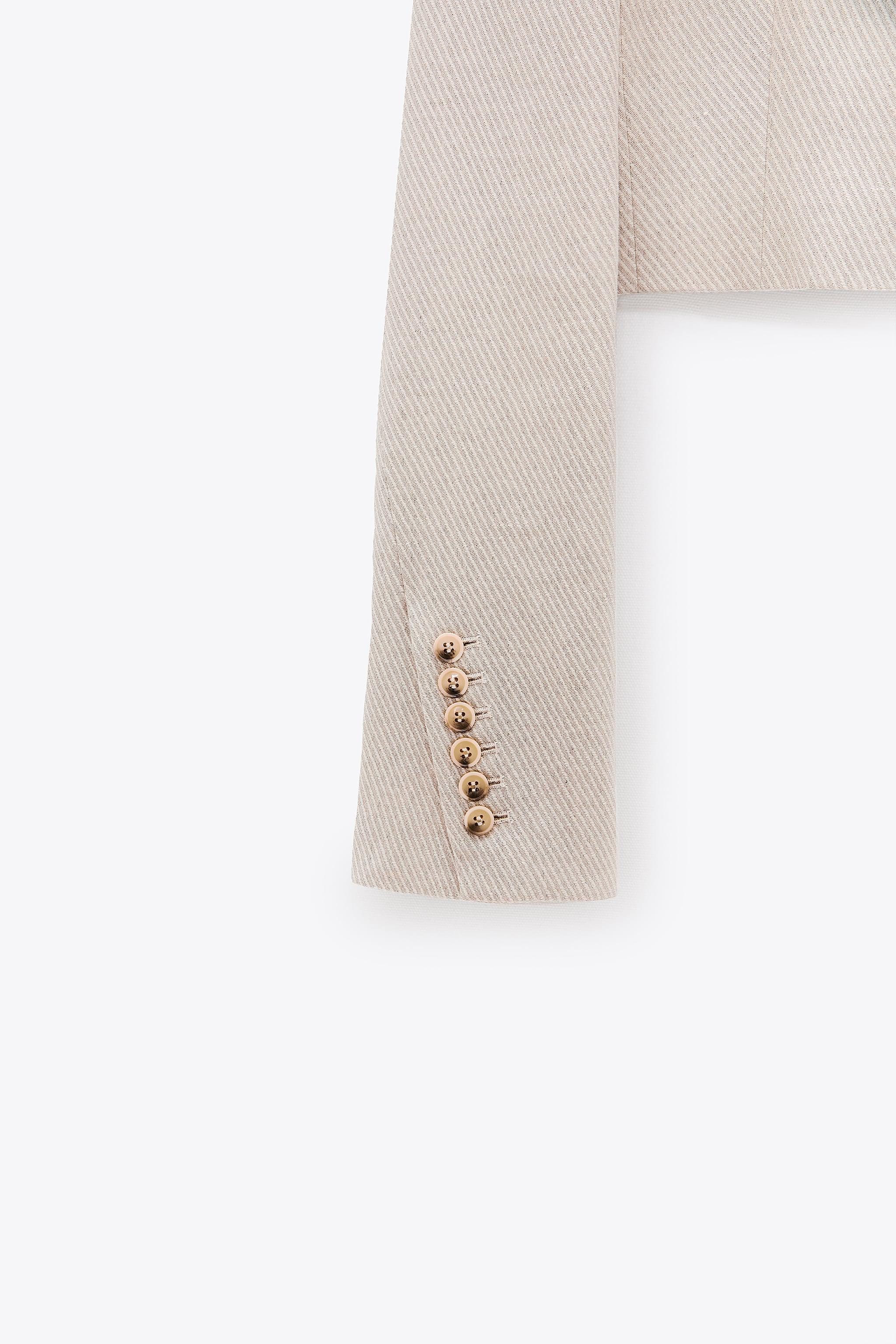 LIMITED EDITION CROPPED BLAZER 6