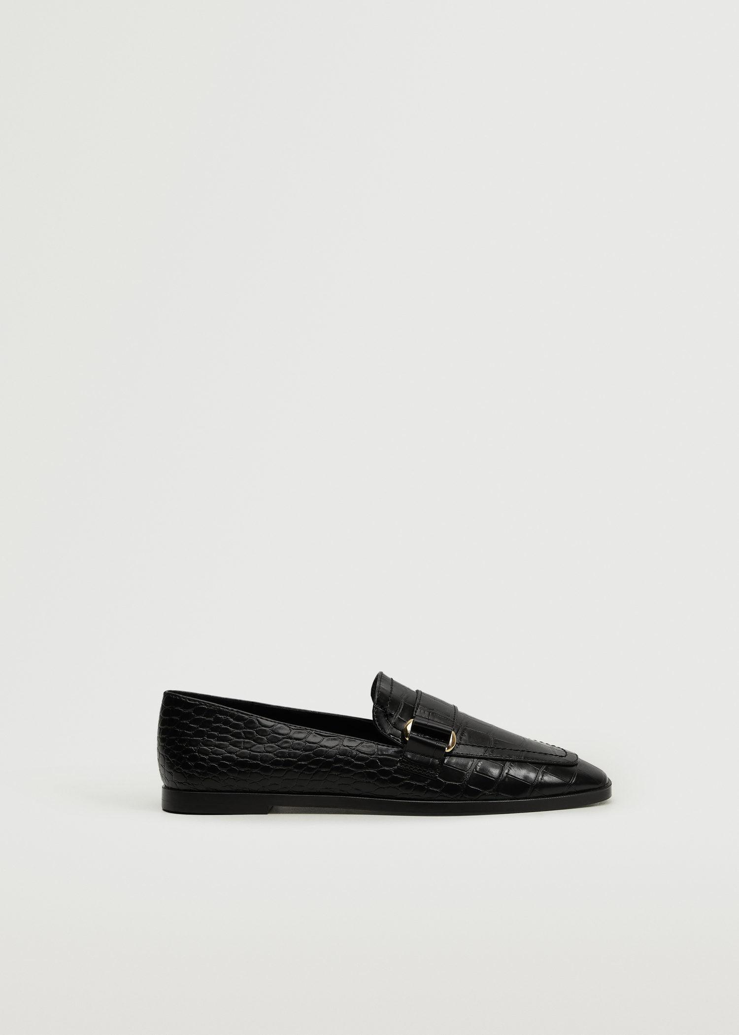 Buckle coco moccasins