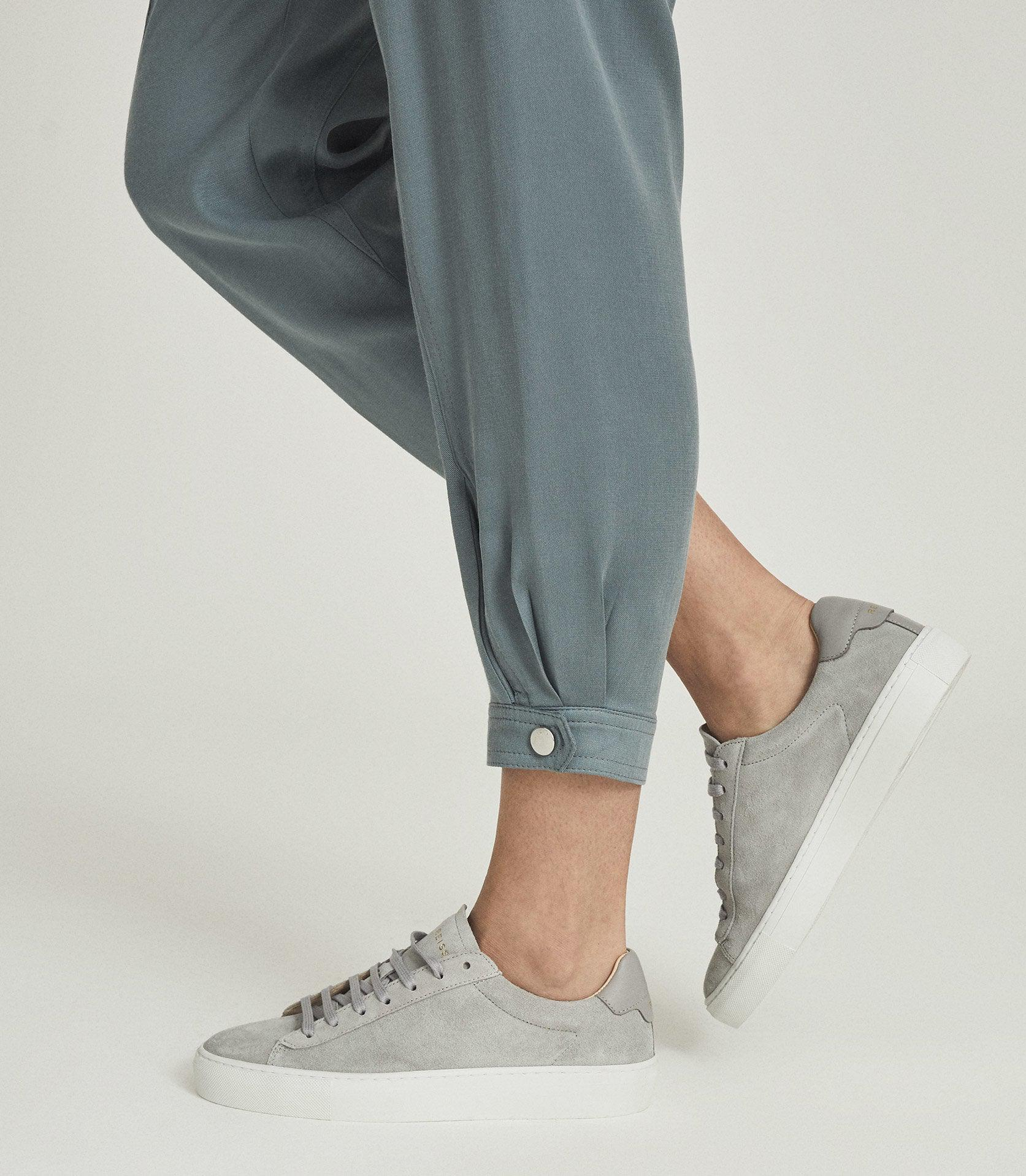 MARLOW - PLEAT FRONT TAPERED PANTS 2