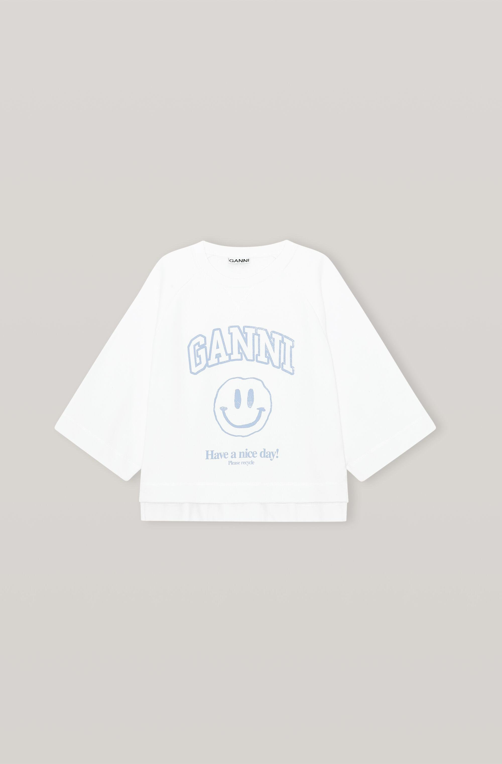 Have a Nice Day Smiley GANNI Graphic Isoli Pullover 3