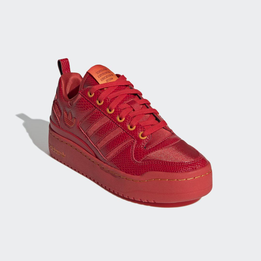 Forum Bold Shoes Red