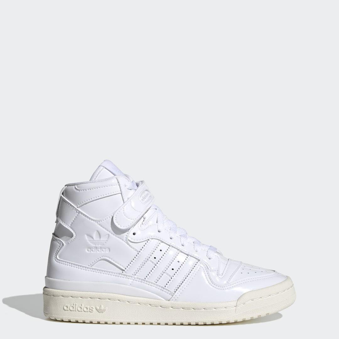 Forum 84 High Shoes White 6