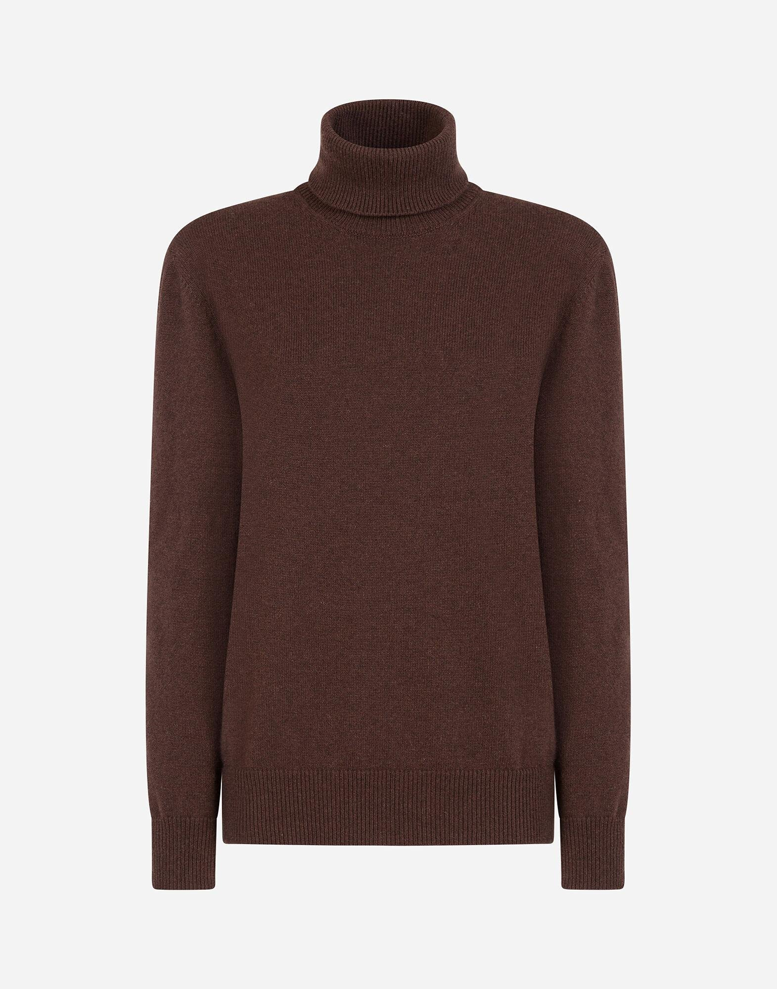 High neck sweater in cashmere 3