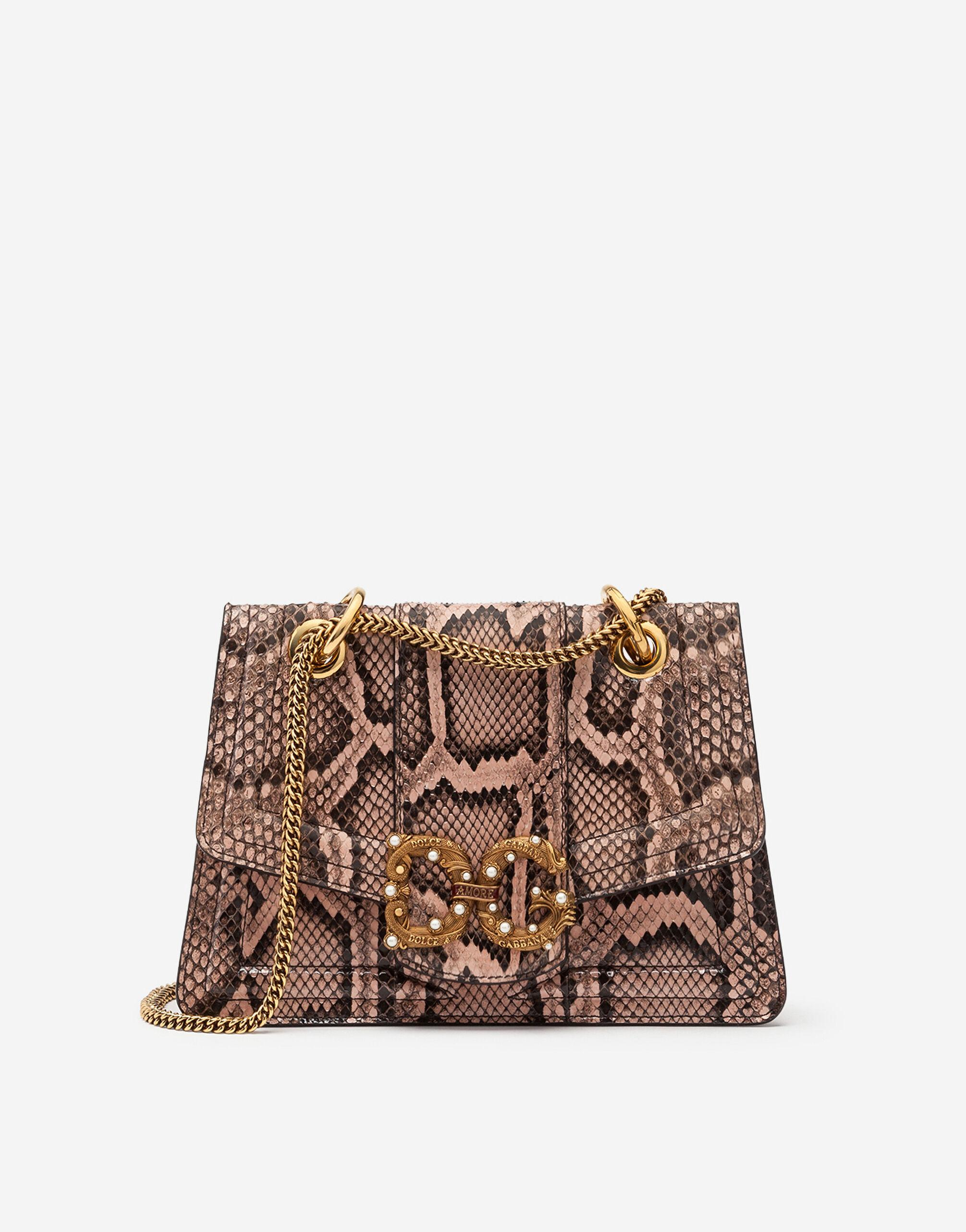 Small DG Amore bag in mixed materials