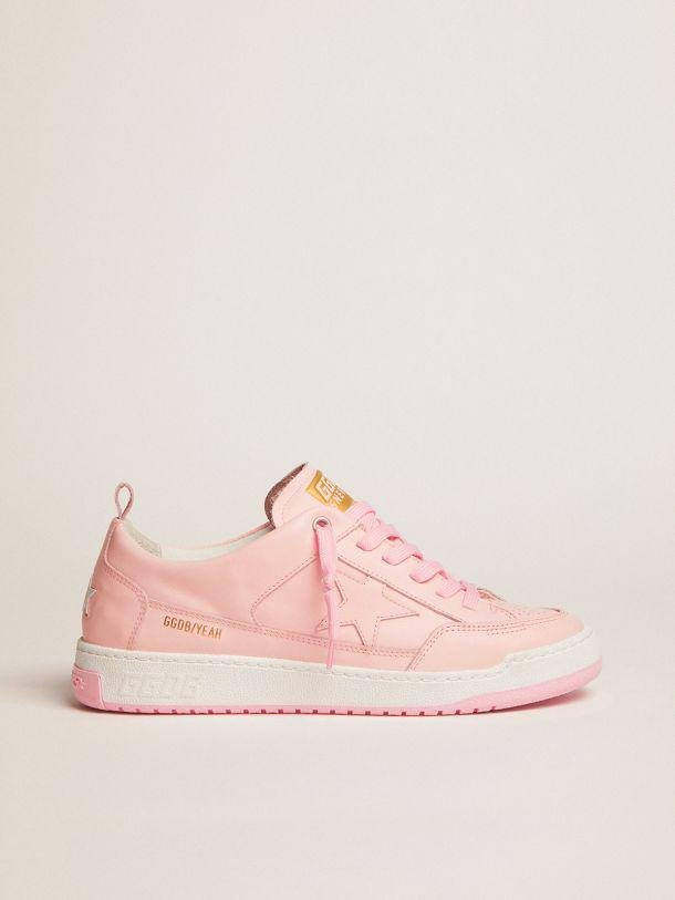 Yeah sneakers in pale pink leather