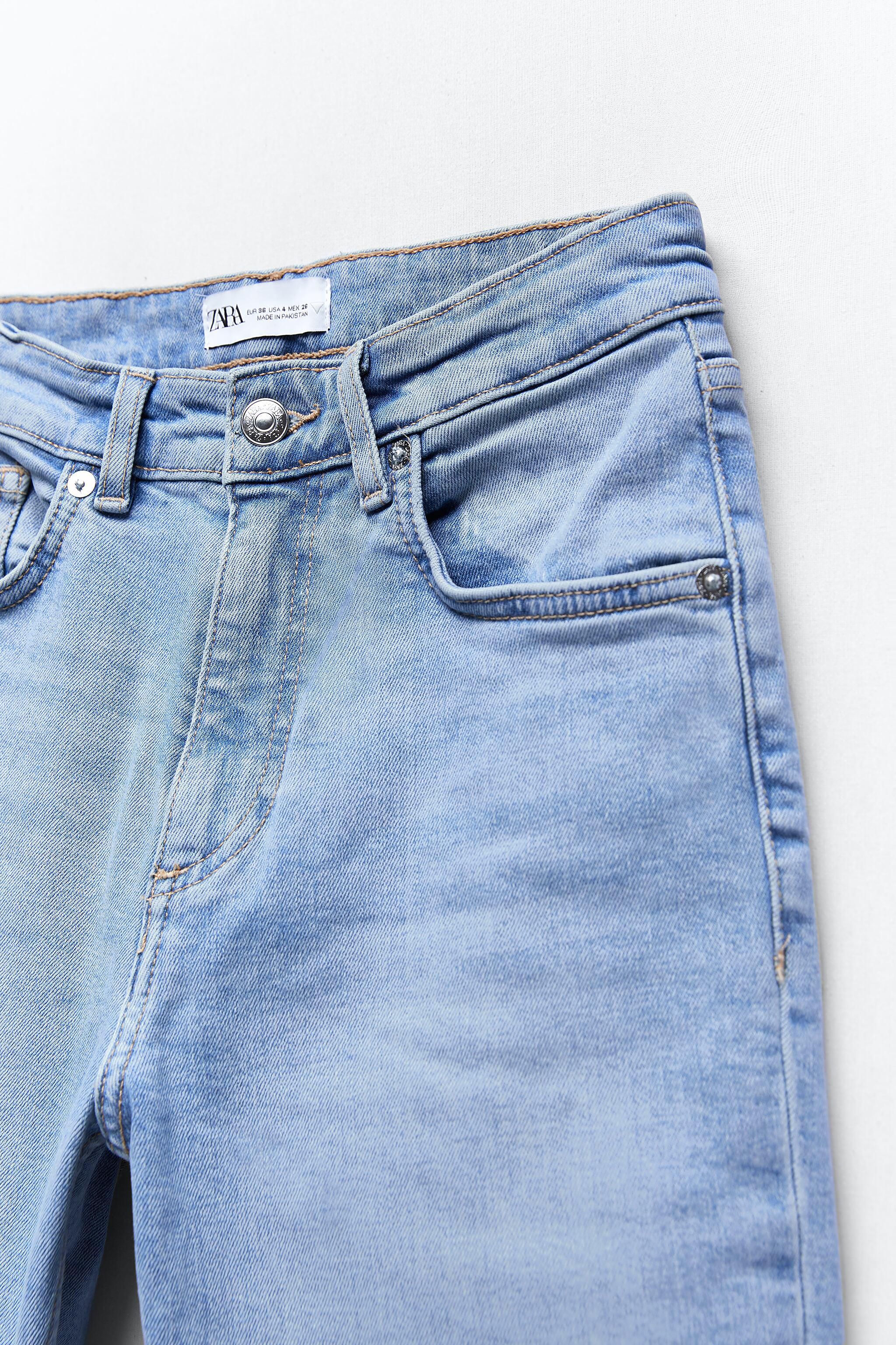 CROPPED FLARE JEANS 8