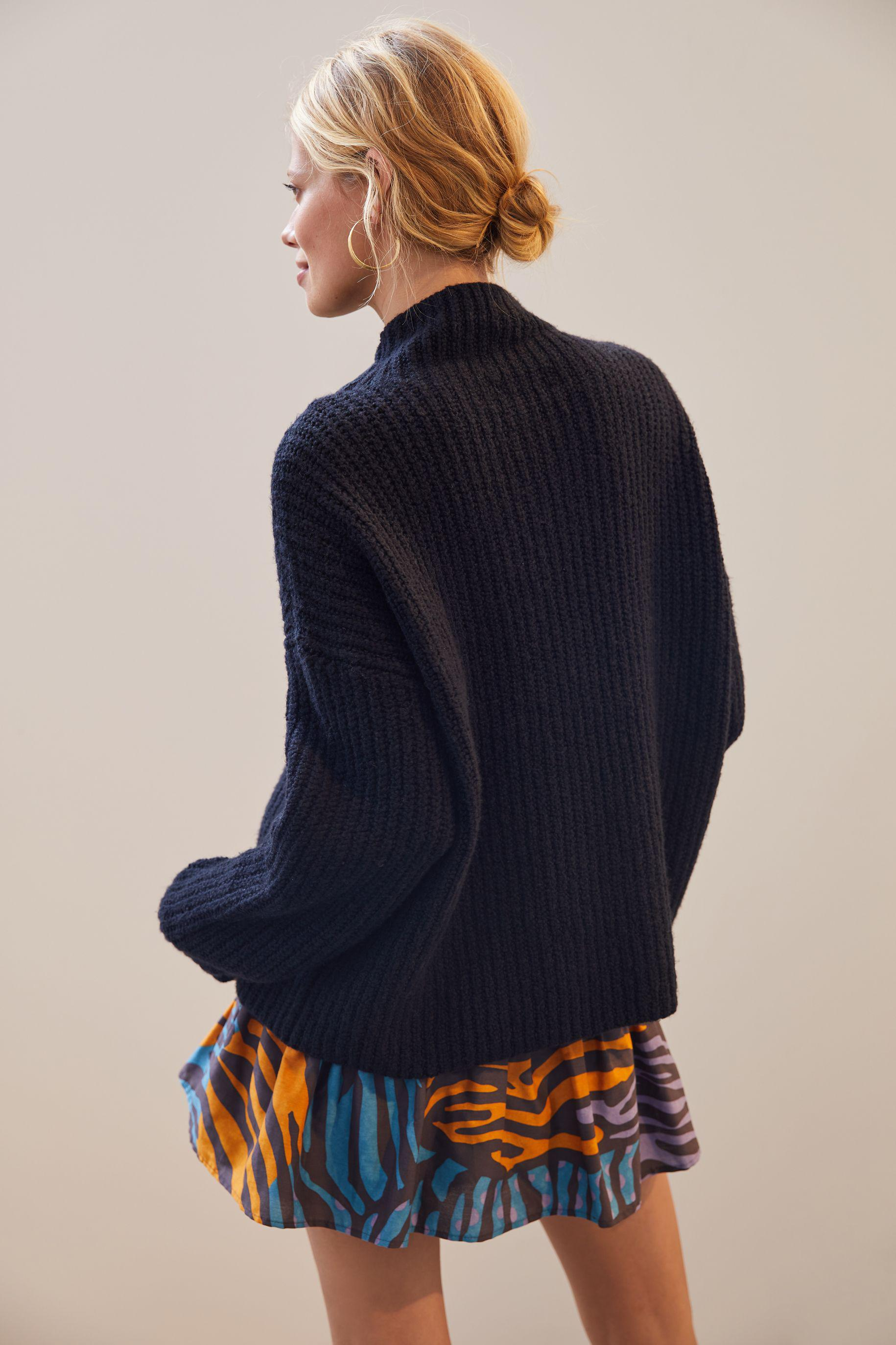 Funnel Neck Sweater 2