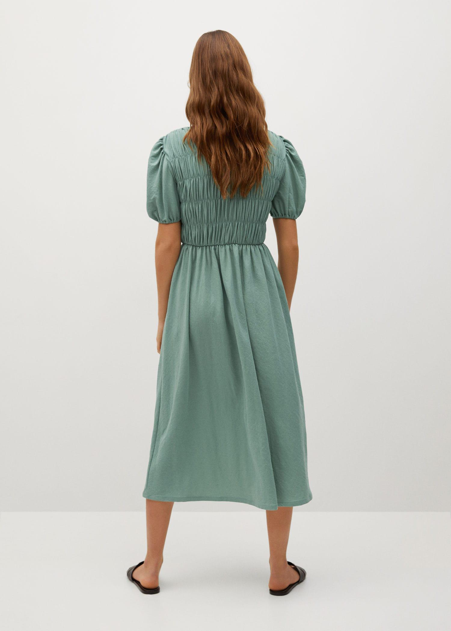 Ruched detail dress 2