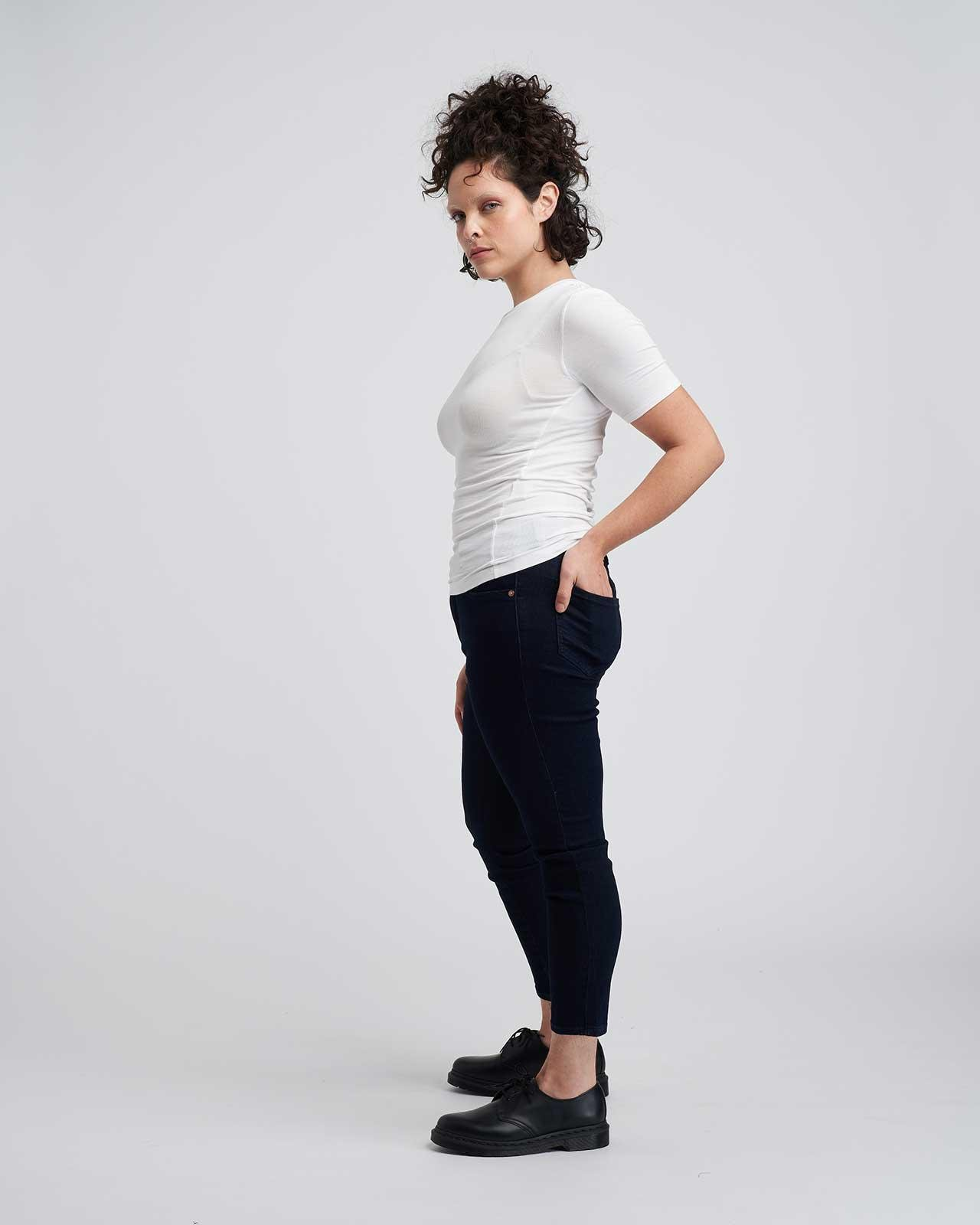 Foundation Short Sleeve Crew Neck Relaxed Tee 3