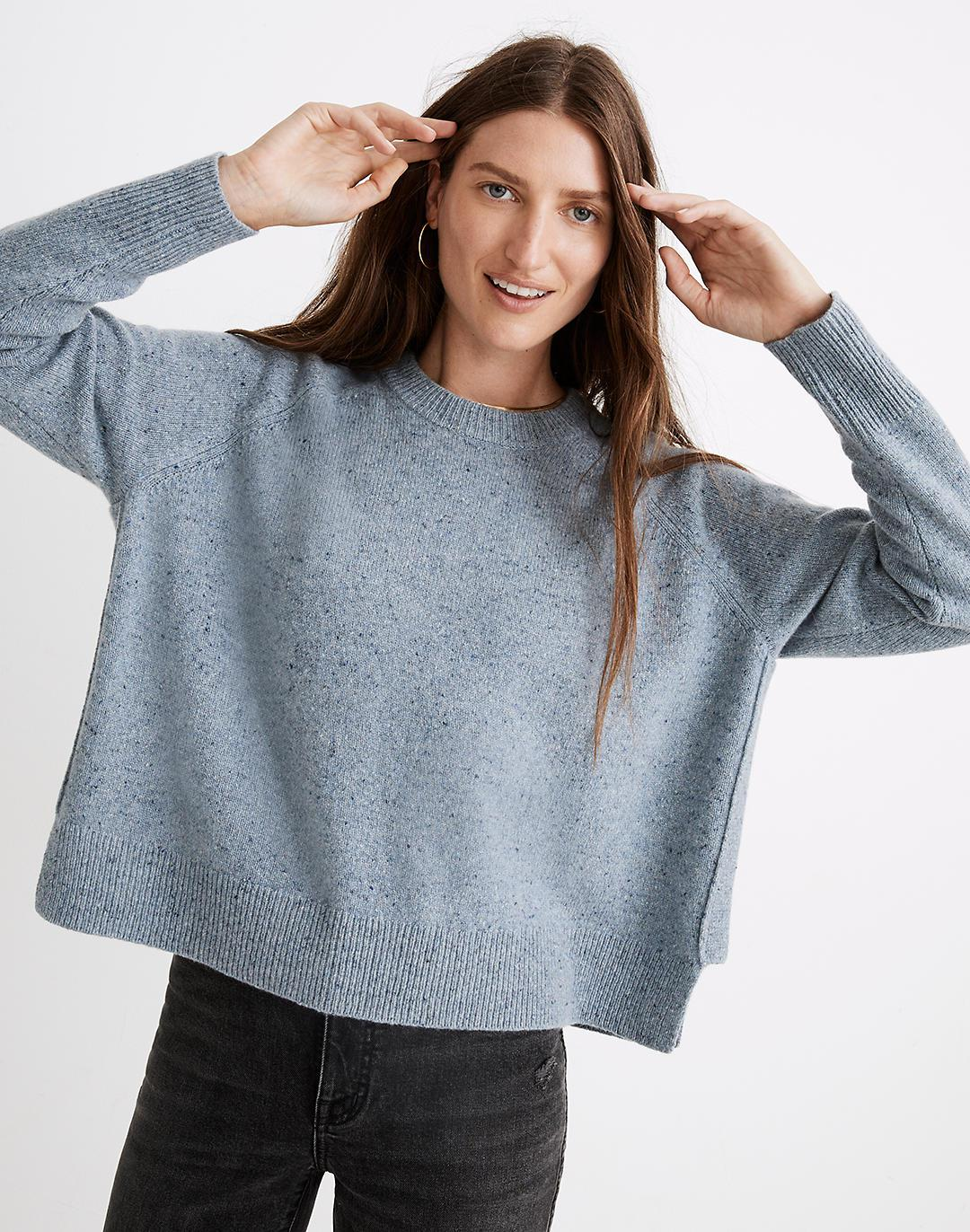 Donegal (Re)sourced Cashmere Crewneck Sweater