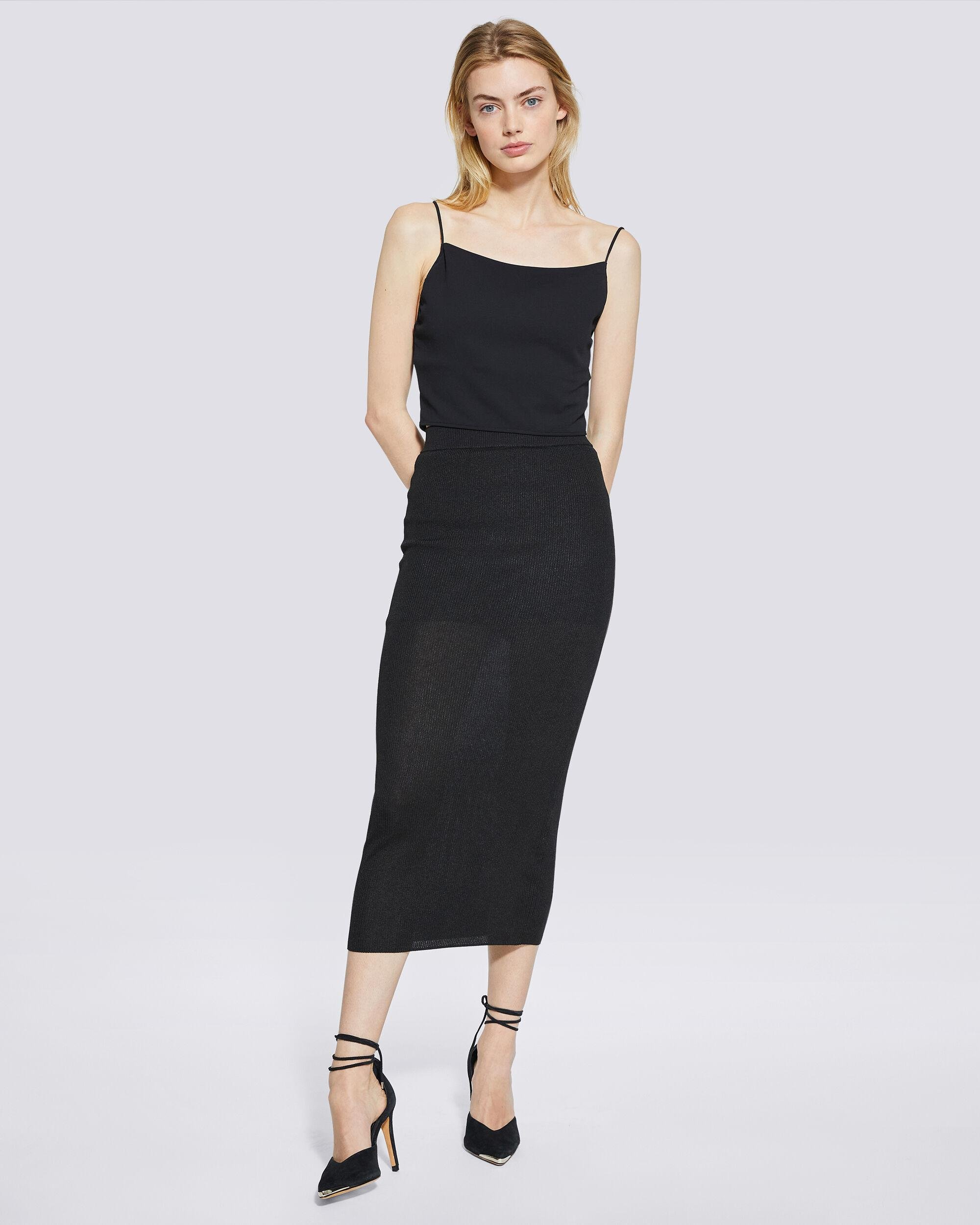 LUNE CROPPED TIE-BACK CAMISOLE 1
