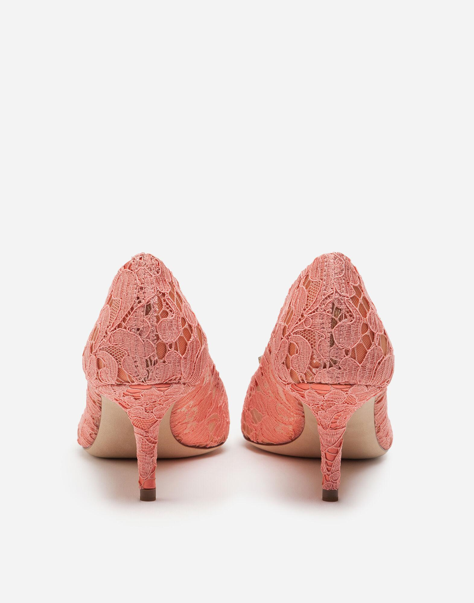 Taormina lace pumps with crystals 2