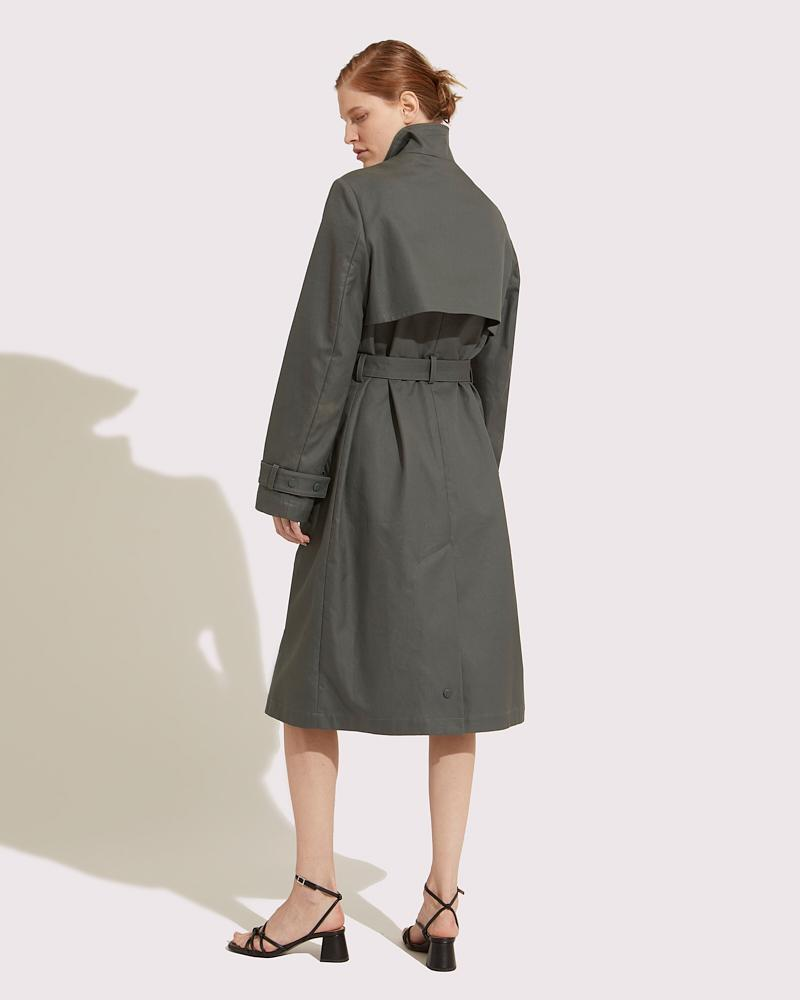 Trench coat fitted 1