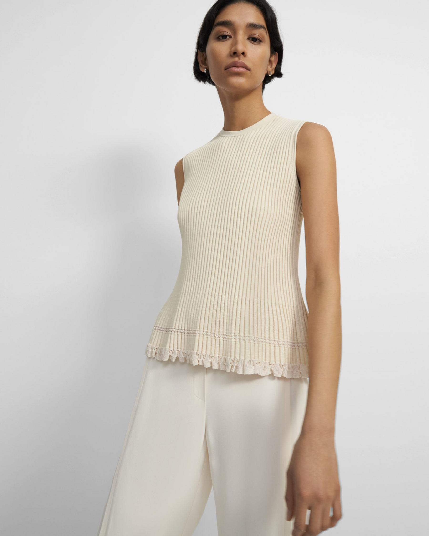Shell Top in Eco Knit 0