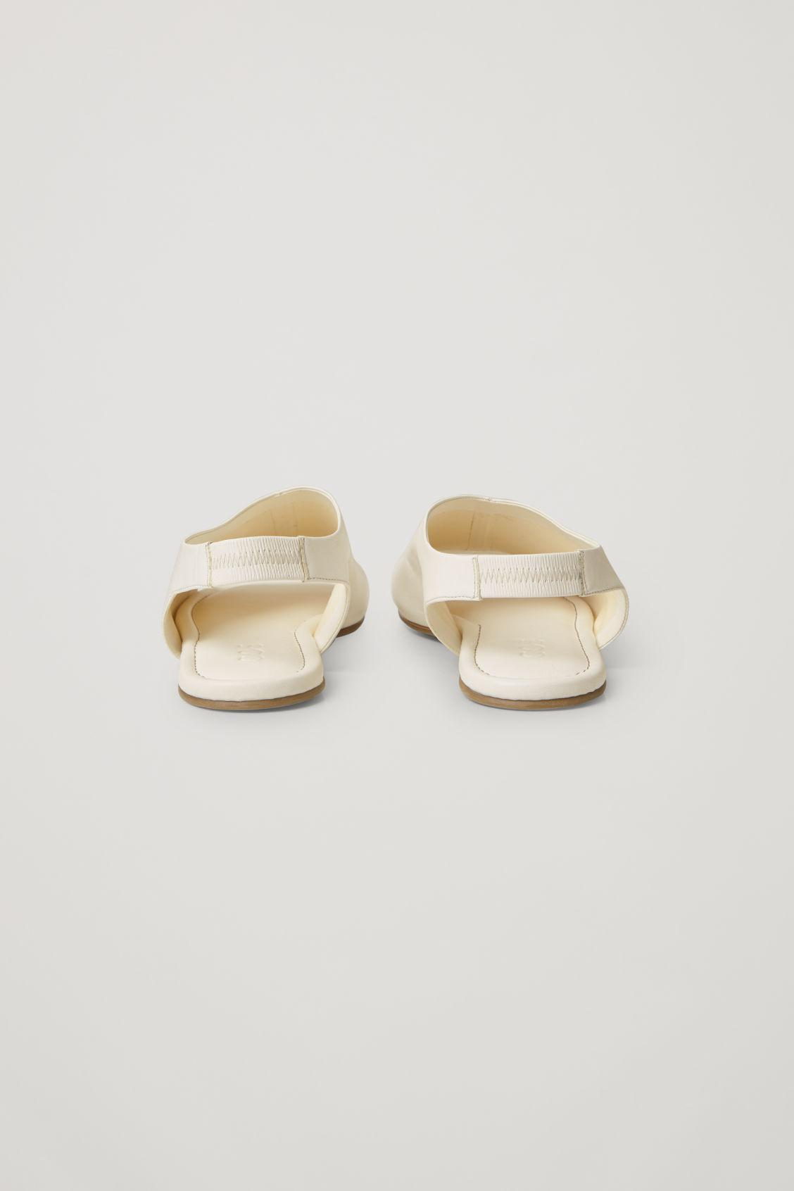 LEATHER OPEN-TOE SANDALS 3