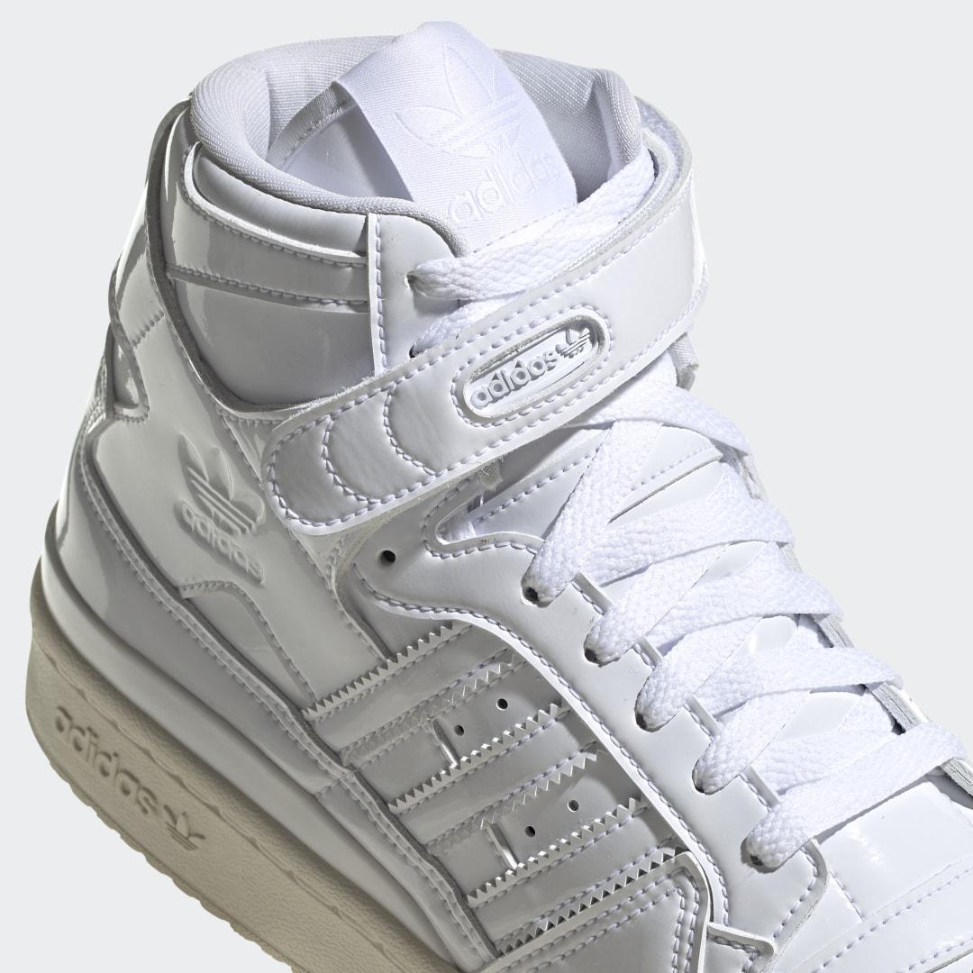 Forum 84 High Shoes White 3
