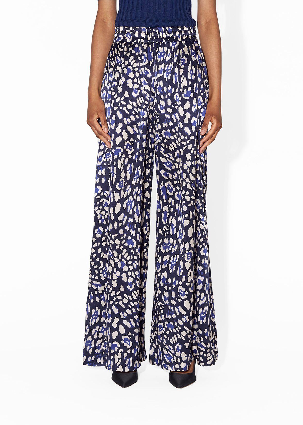 WIDE-LEG PANT IN PRINTED CHARMEUSE 3