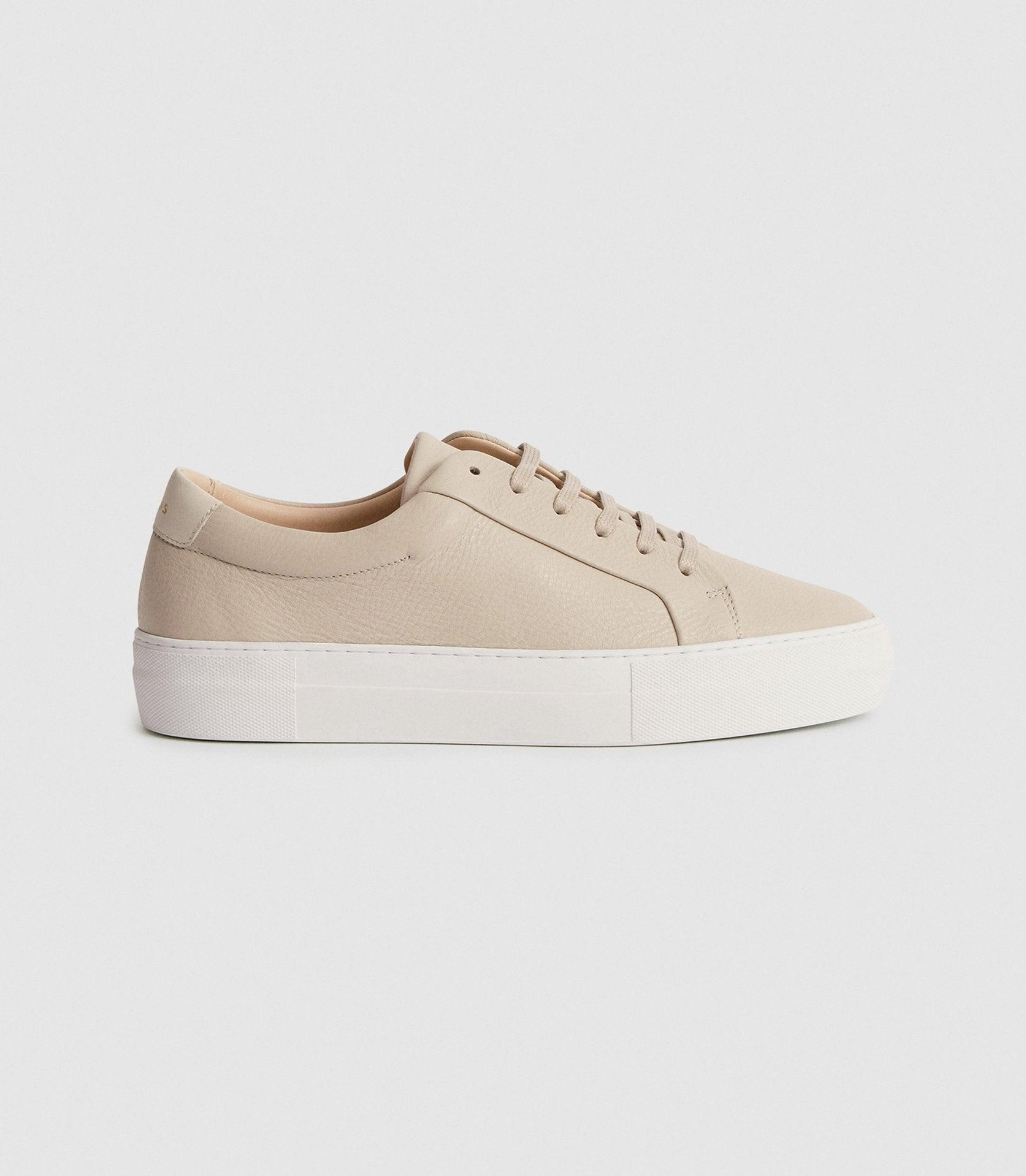 LUCA - TUMBLED LEATHER SNEAKERS