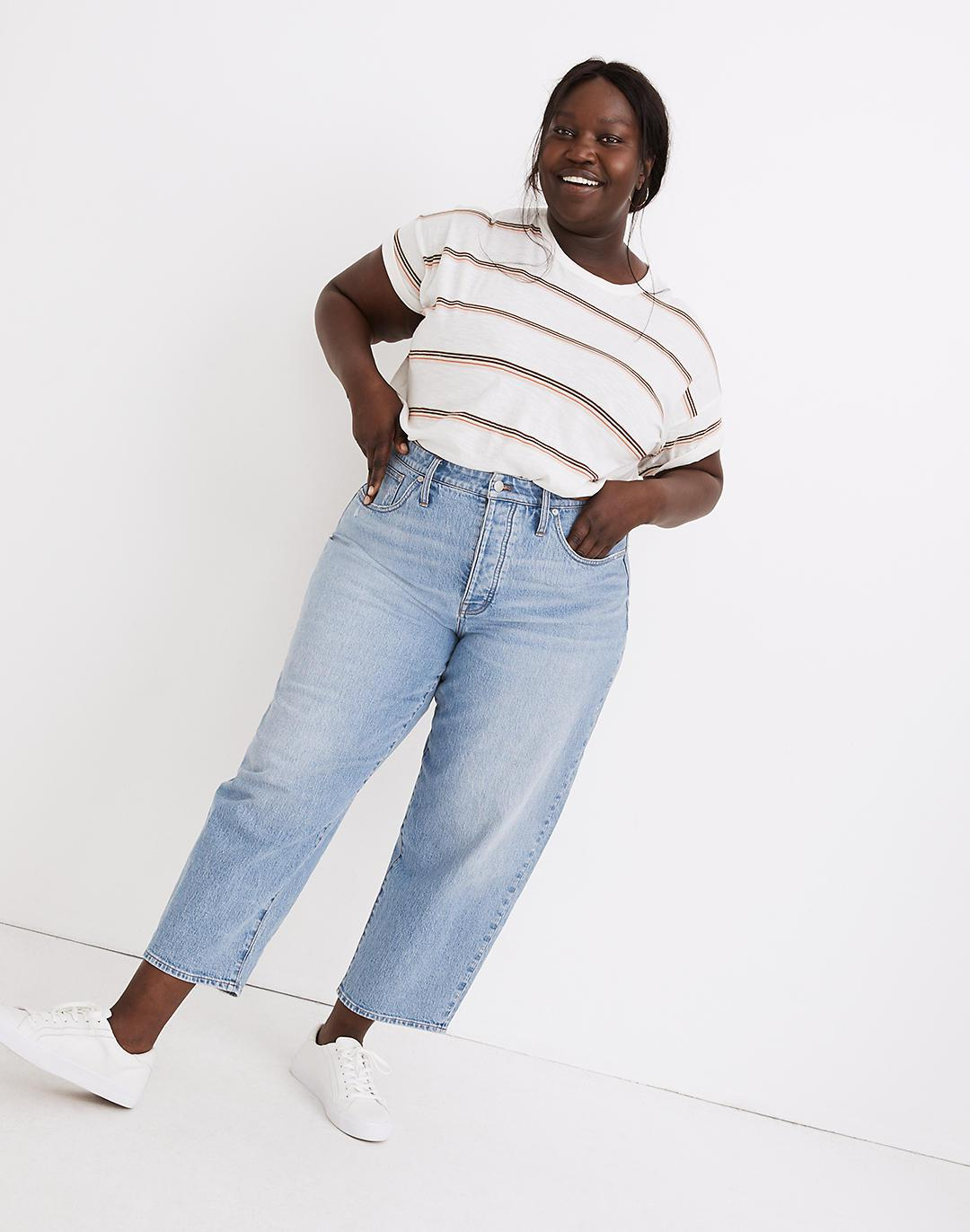 Plus Balloon Jeans in Hewes Wash