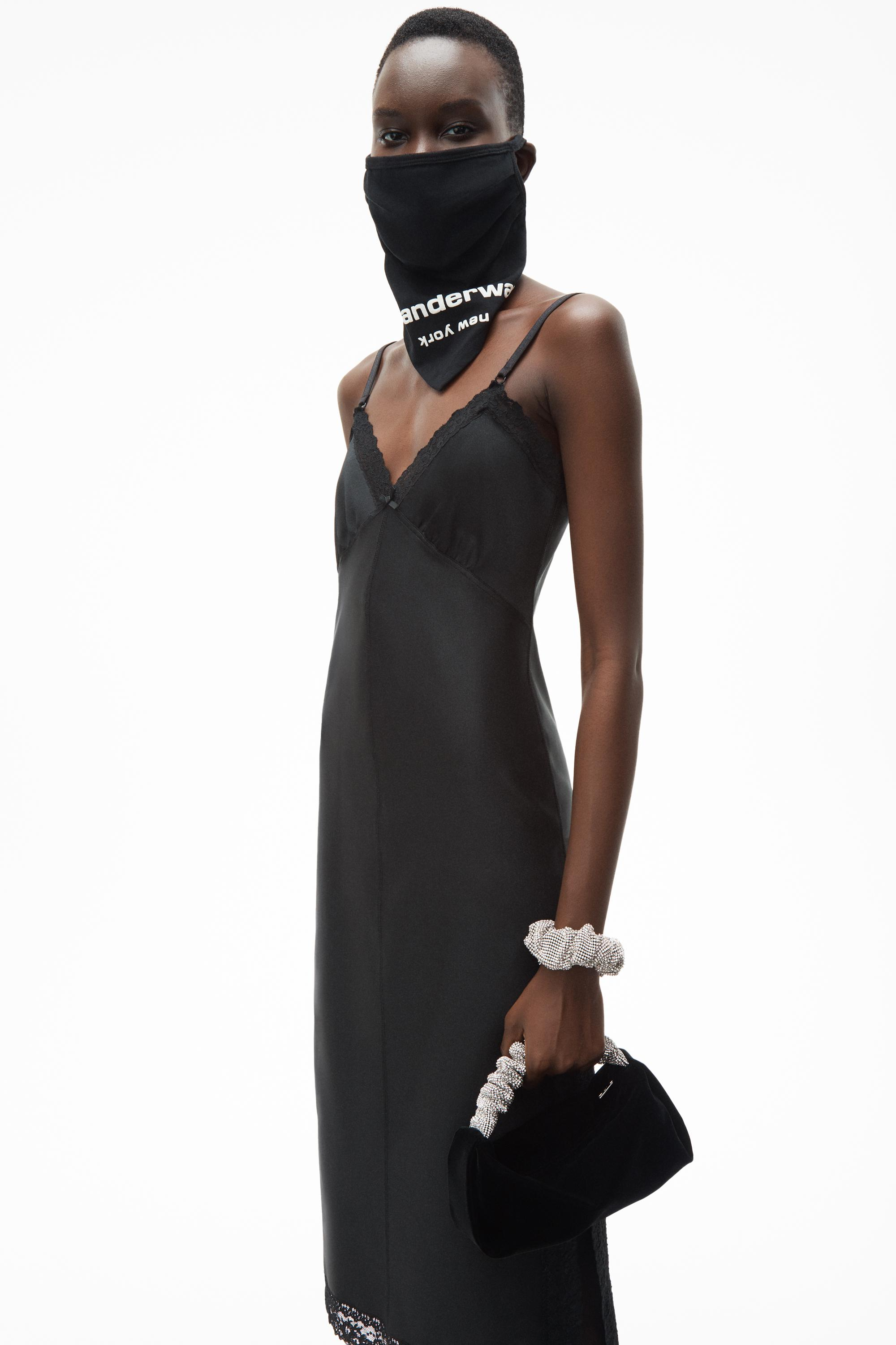 fitted slip dress 2