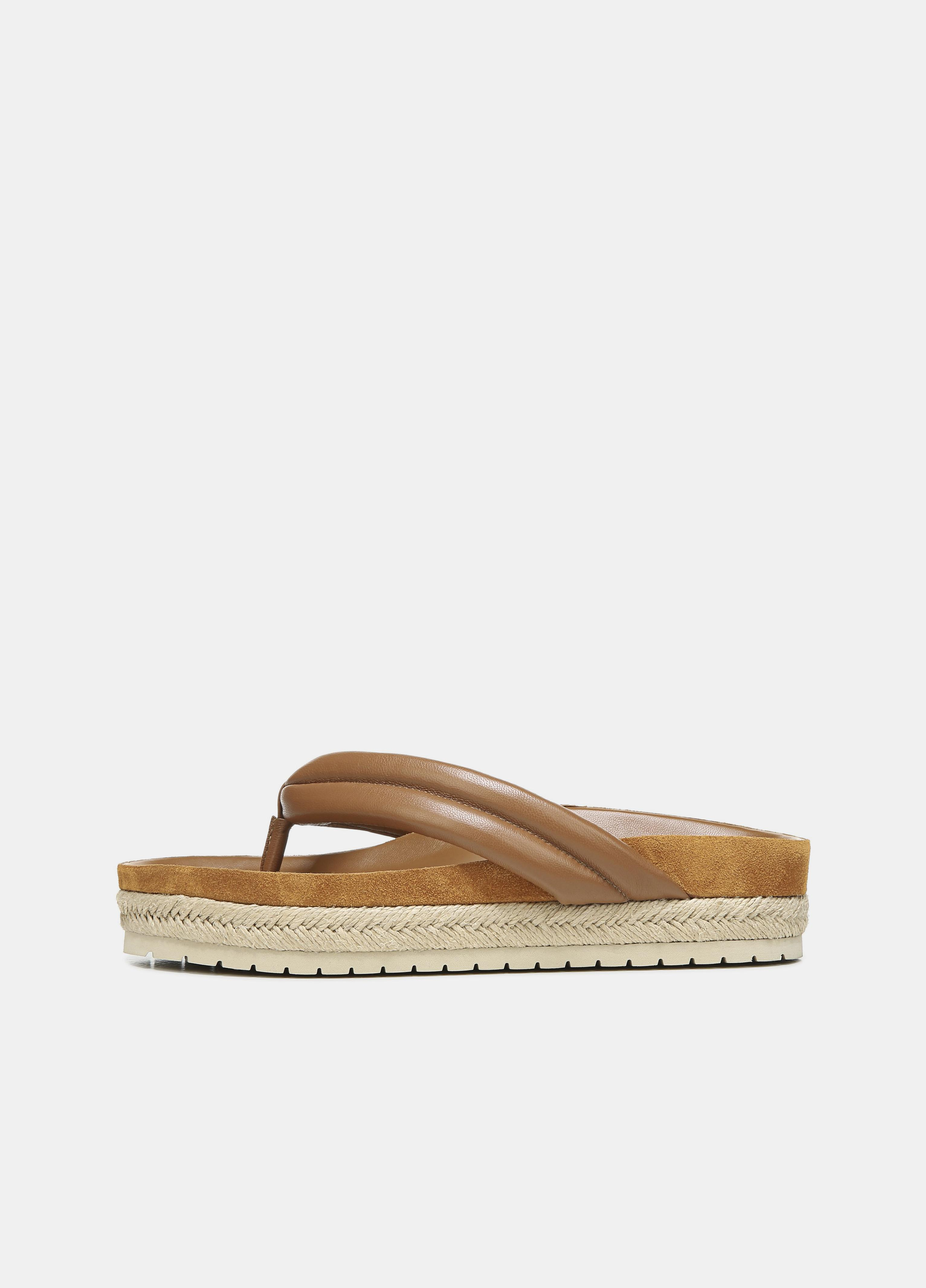 Forest Leather Sandal