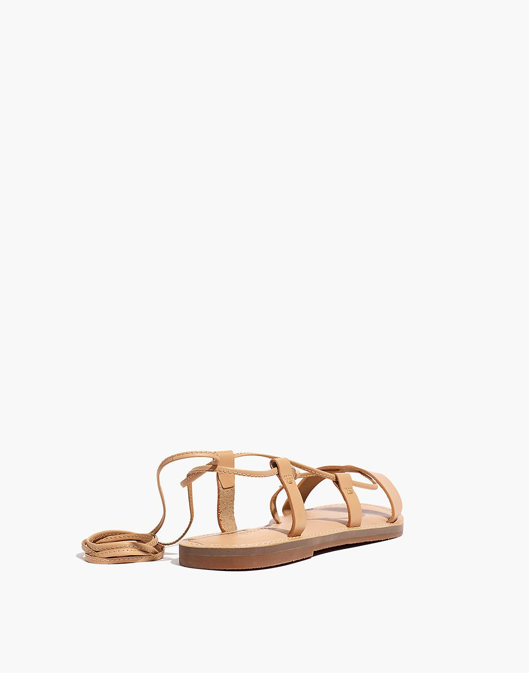 The Boardwalk Lace-Up Sandal in Leather 2
