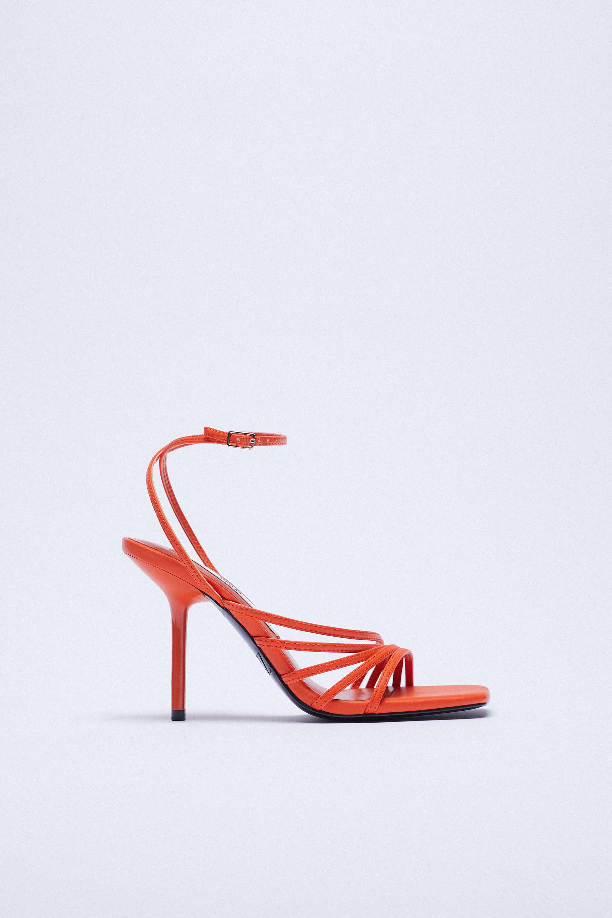 HEELED SANDALS WITH THIN STRAPS 2