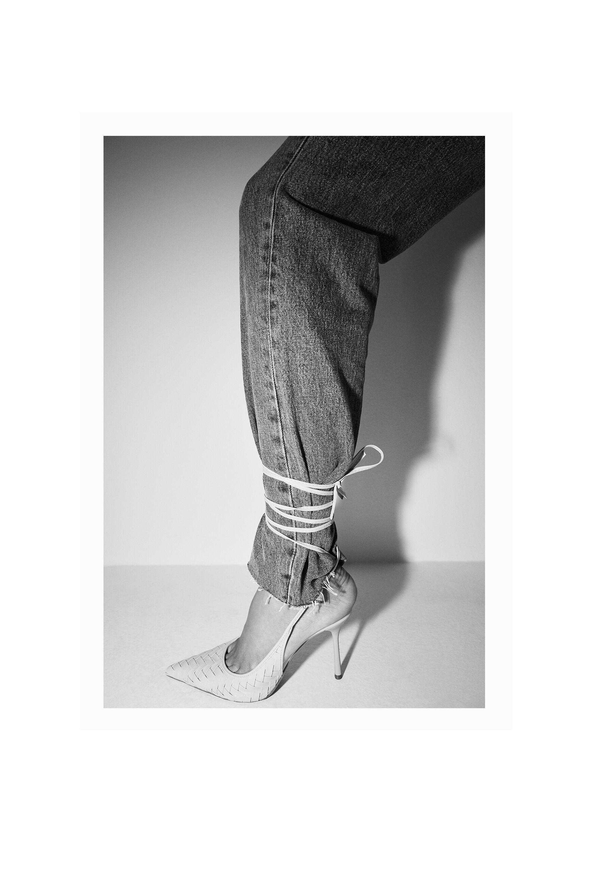 WOVEN HEELS WITH ANKLE STRAP 6