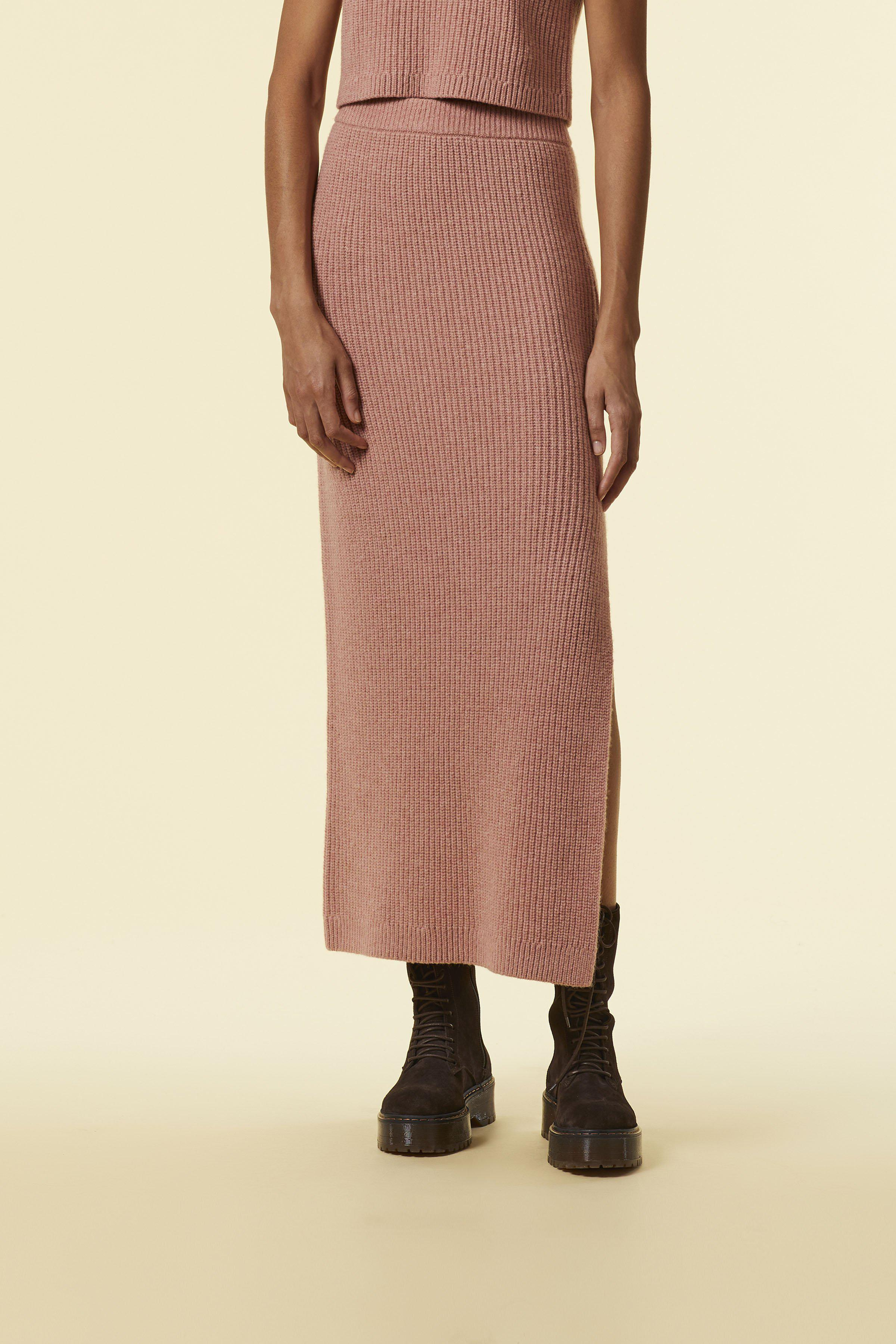 'Wetherby' Knit Skirt