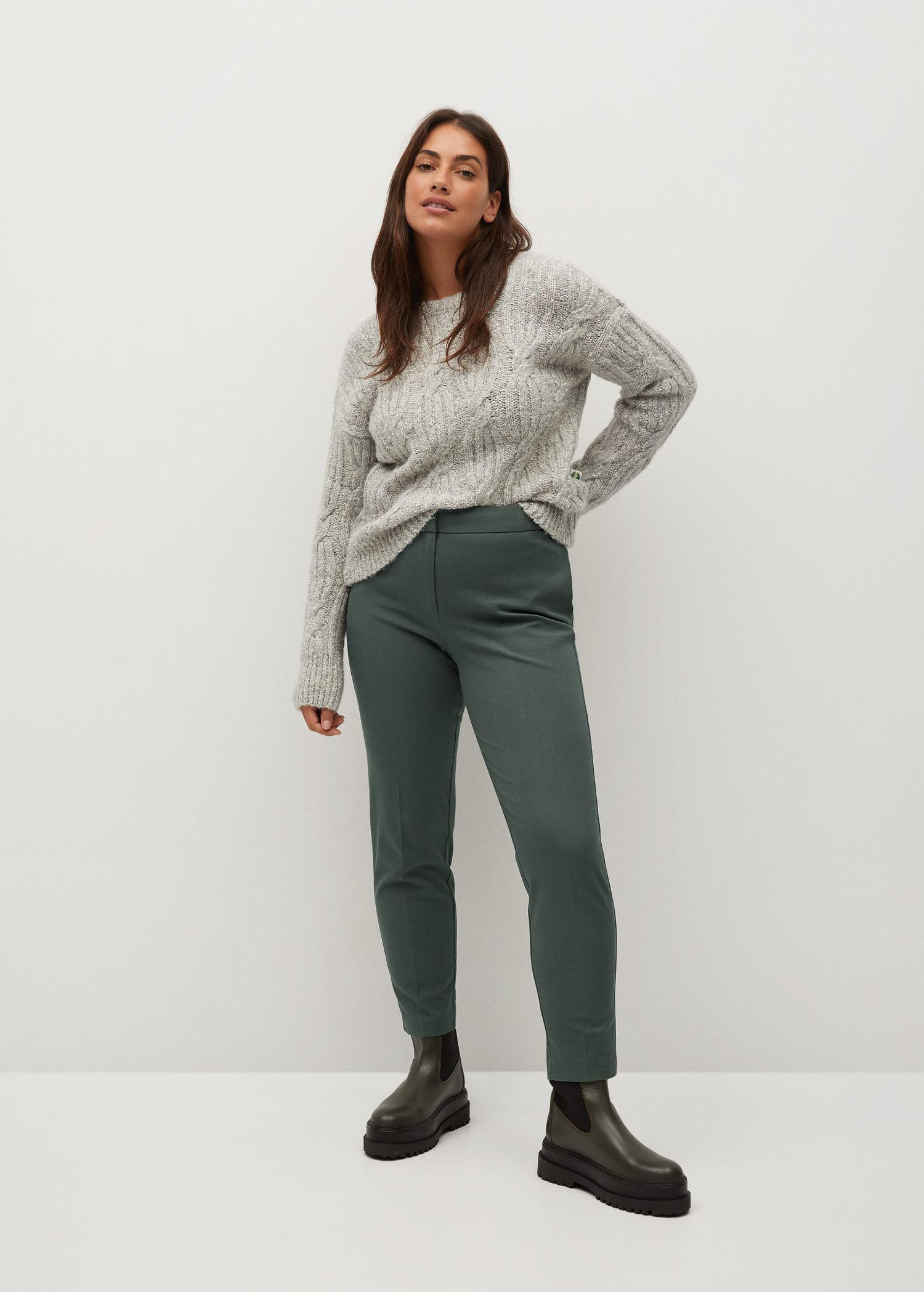 Side buttons pants