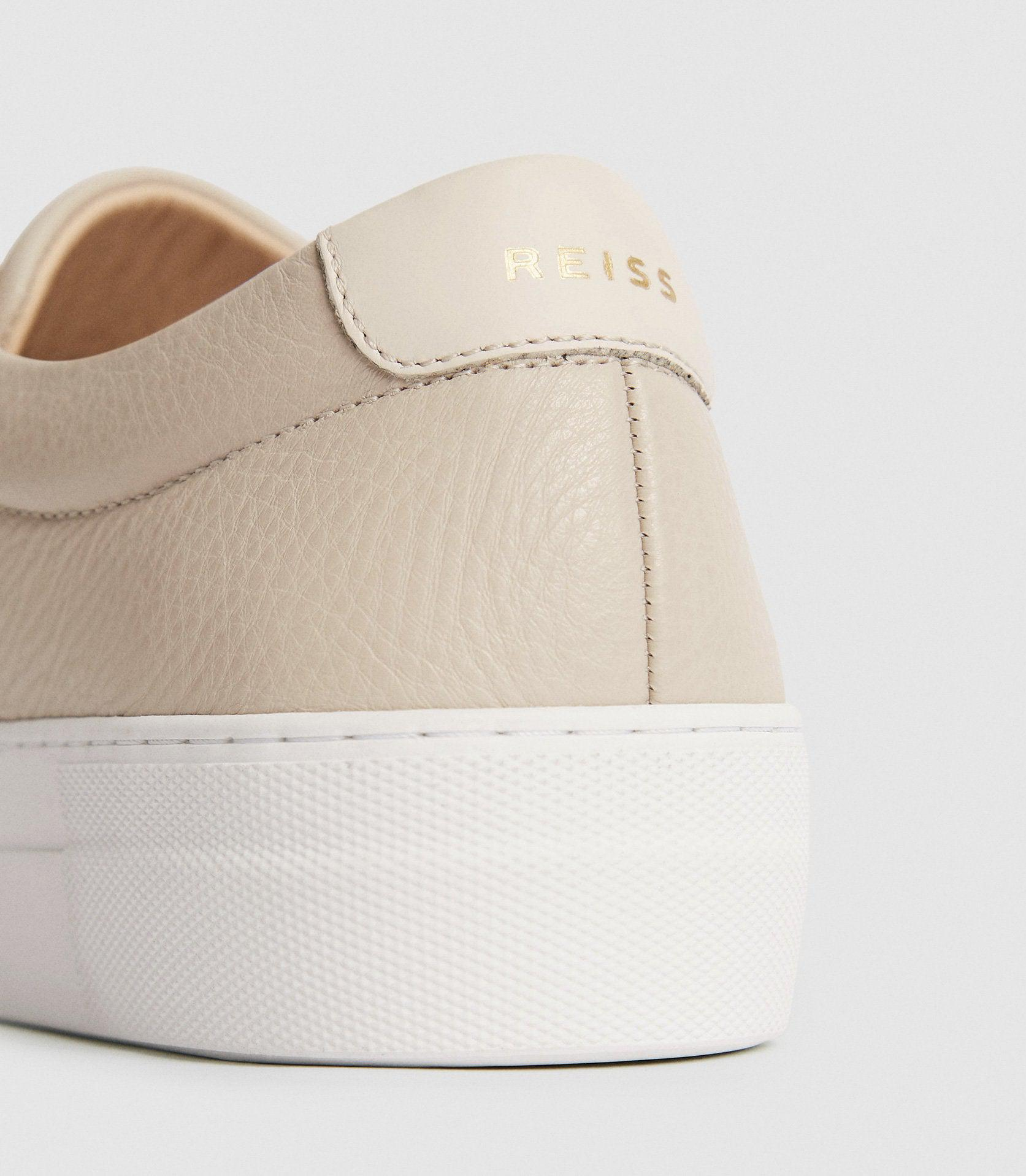 LUCA - TUMBLED LEATHER SNEAKERS 2