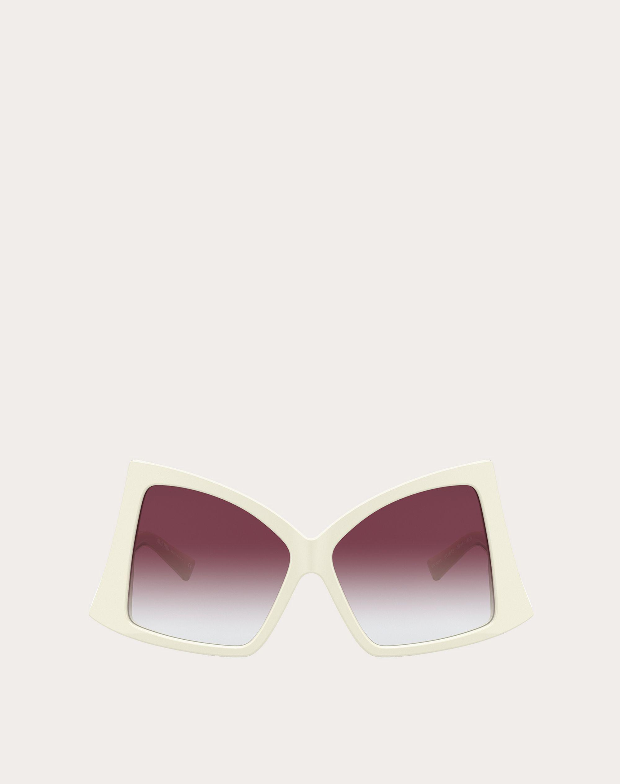 BUTTERFLY SUNGLASSES IN ACETATE WITH ROMAN STUD