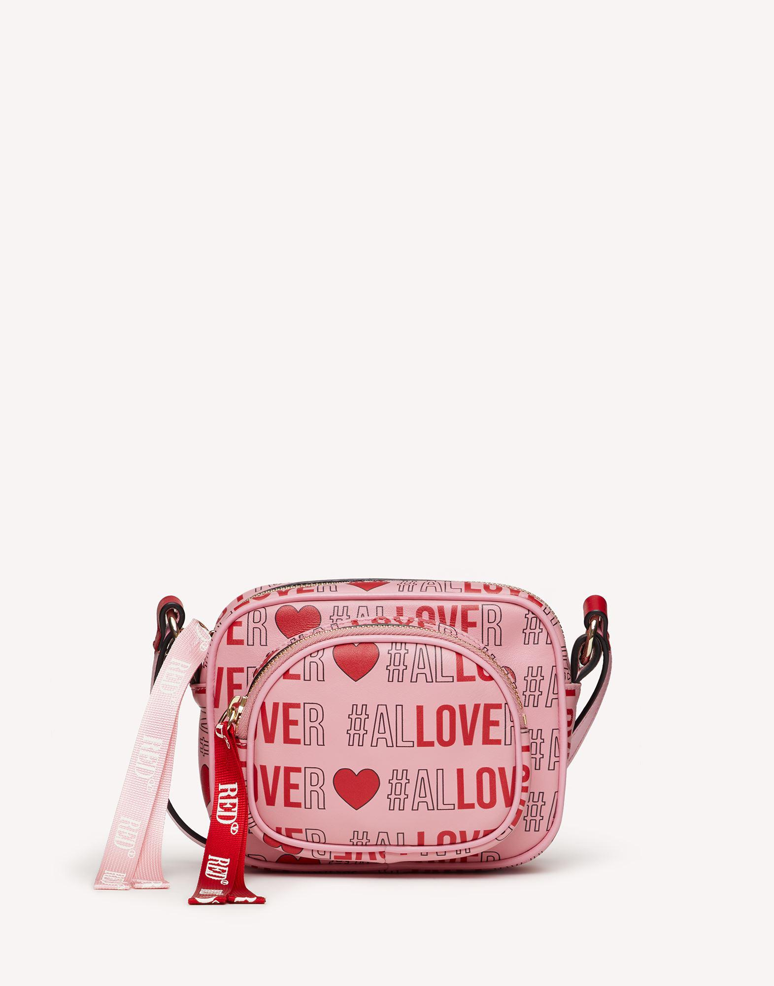 RED DOUBLE DISCO CROSSBODY BAG - LIMITED EDITION QIXI