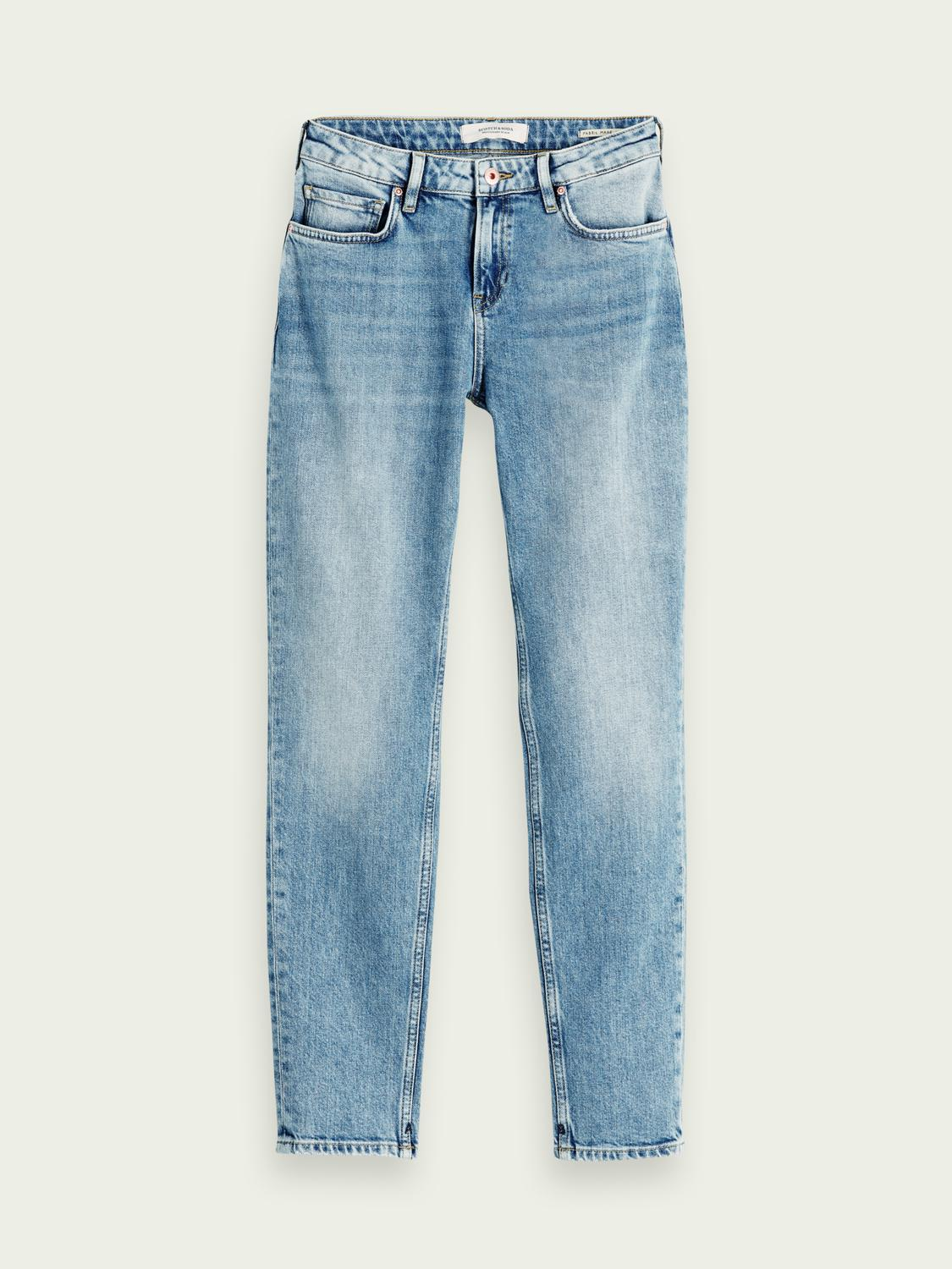 The Keeper - Turquoise Mid rise slim fit 5