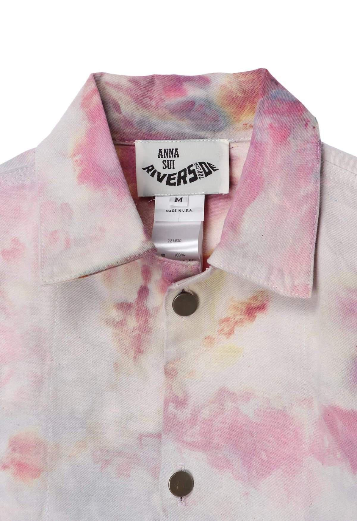 Hand Tie Dyed Vintage Dead Stock Jacket 6