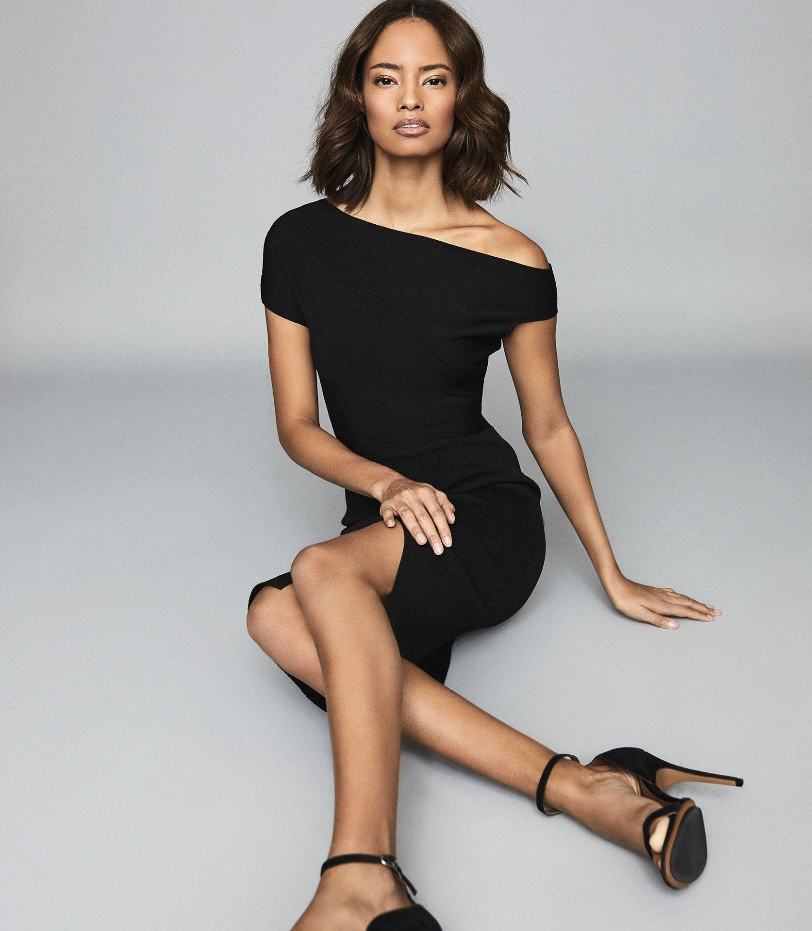 LAVINIA - KNITTED BODYCON DRESS 1