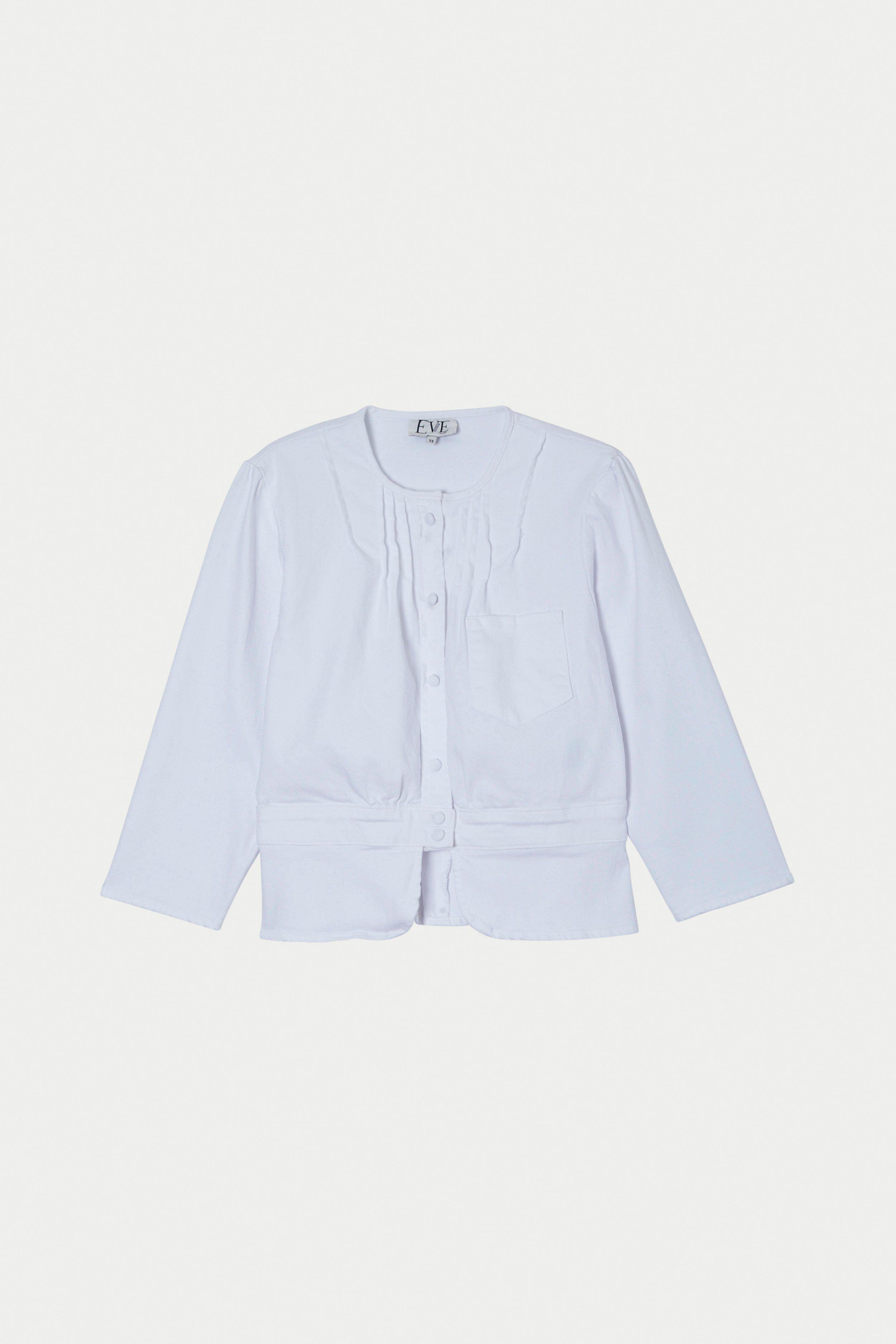 Prudence Jacket in Blanc 2