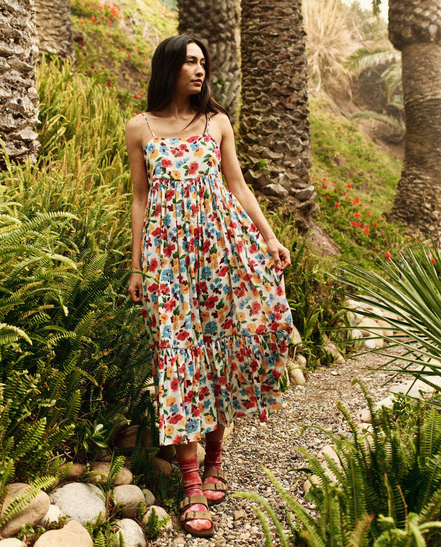 The Dainty Dress. -- Tropical Floral 1