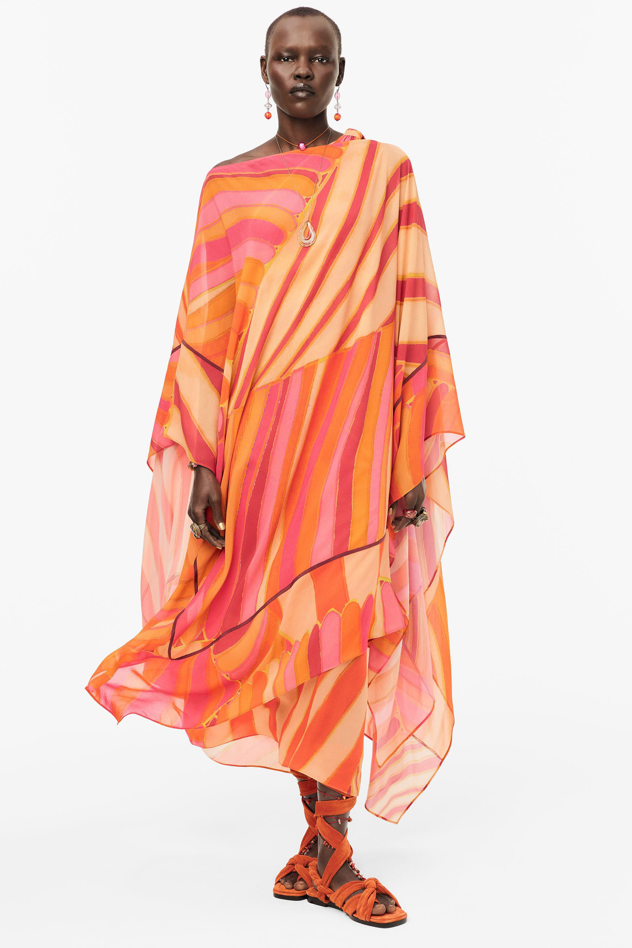 2-IN-1 PONCHO DRESS LIMITED EDITION