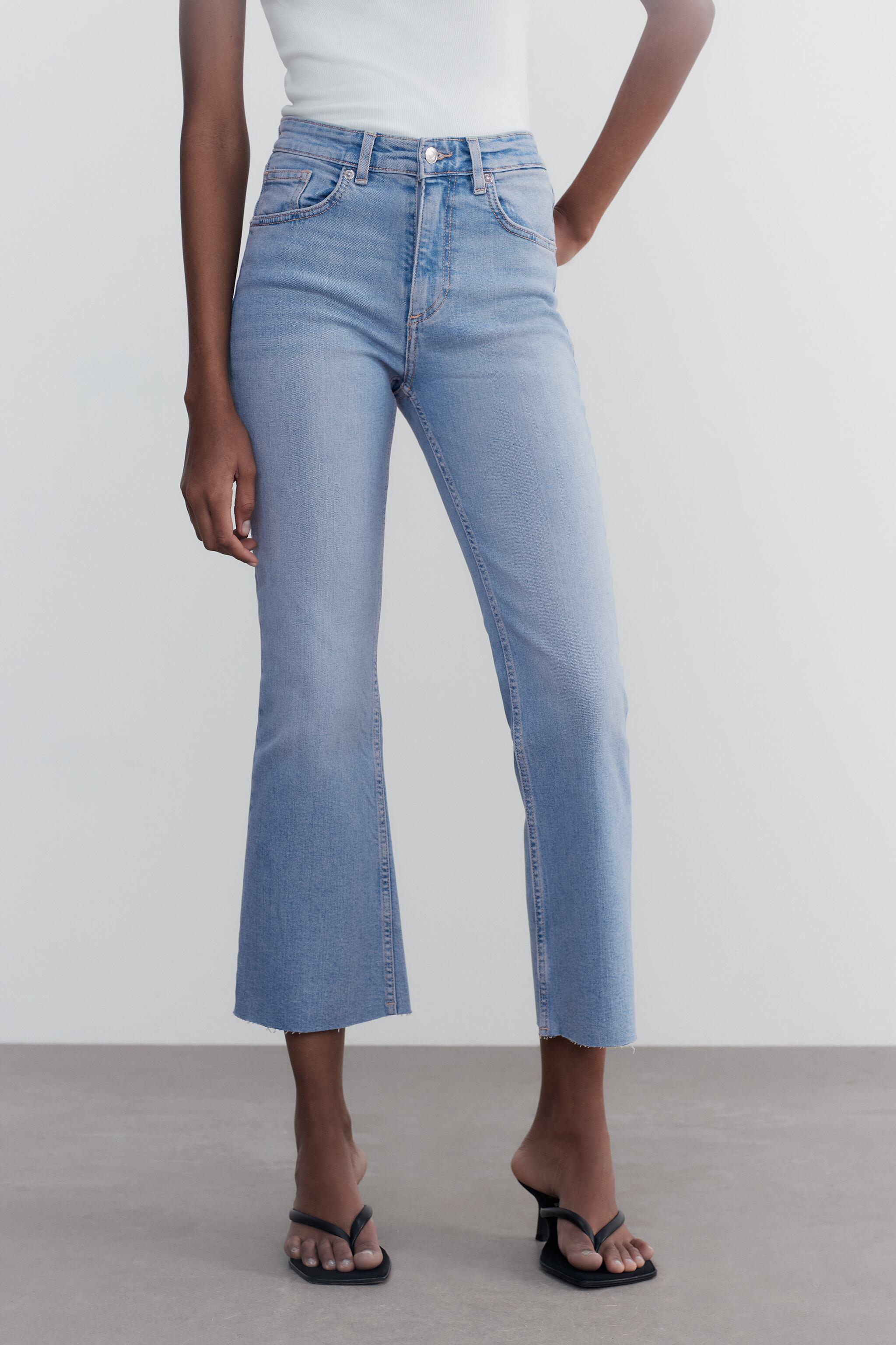 CROPPED FLARE JEANS 1
