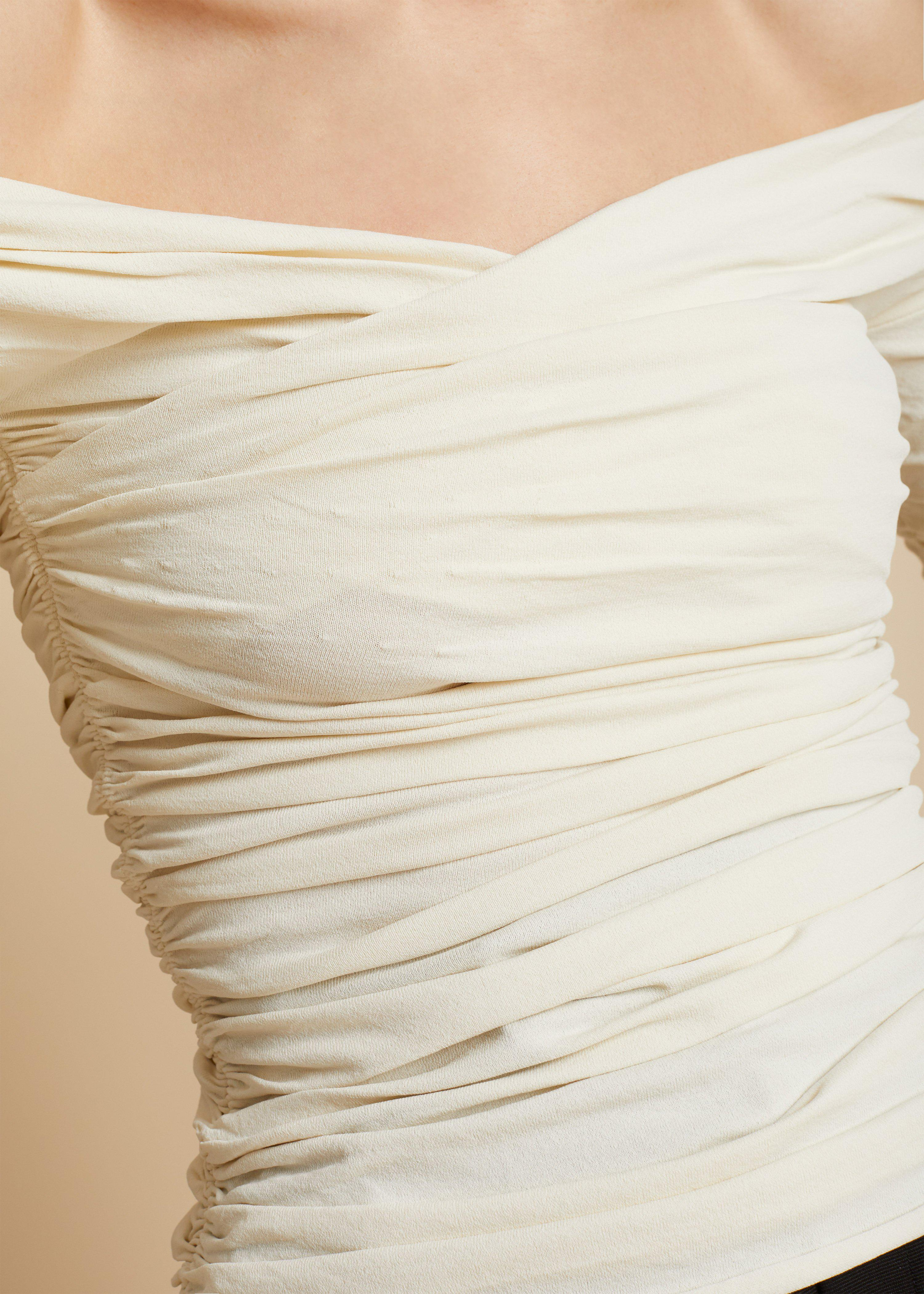 The Elsa Top in Ivory 6