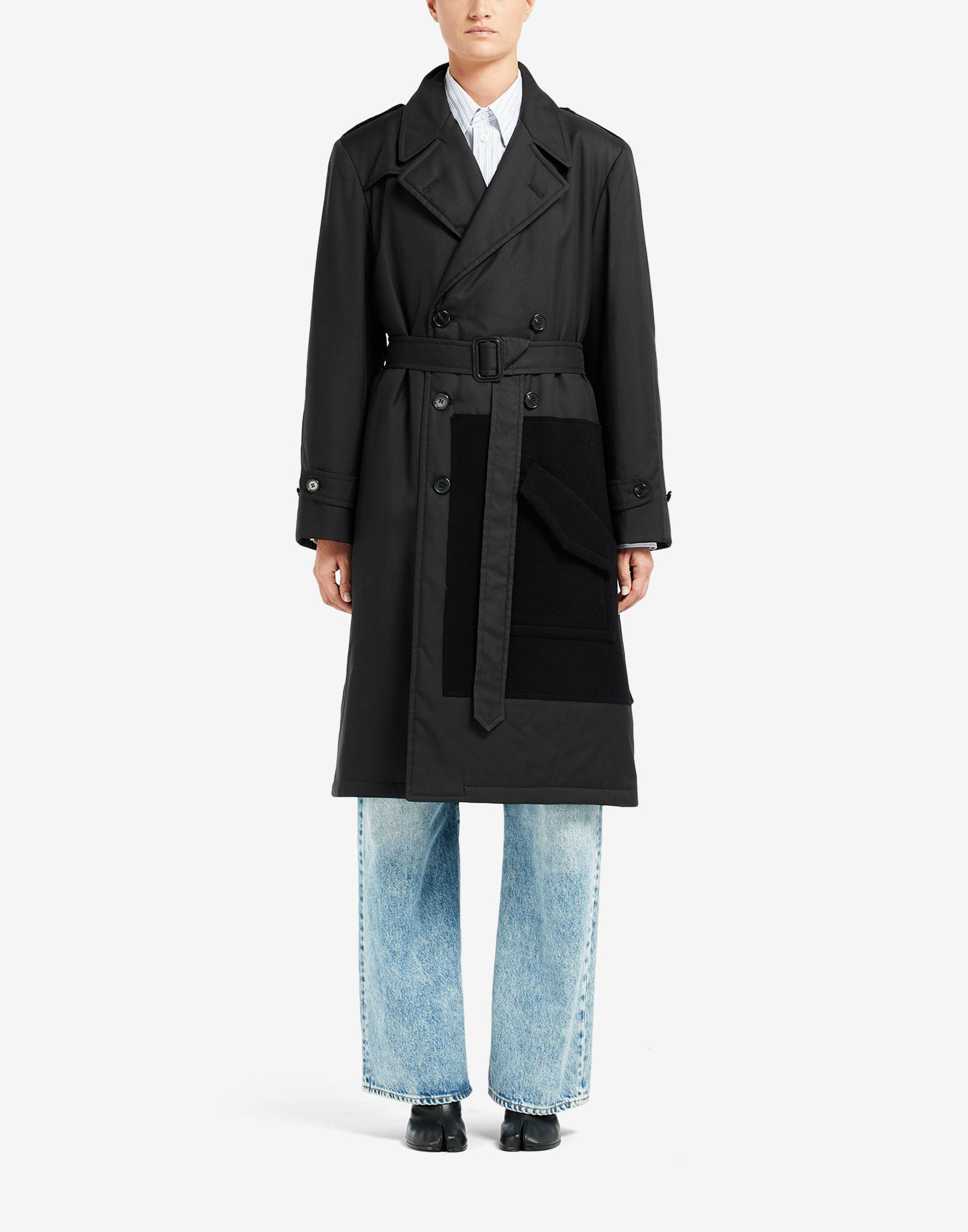 Trench Coat with Side Pocket