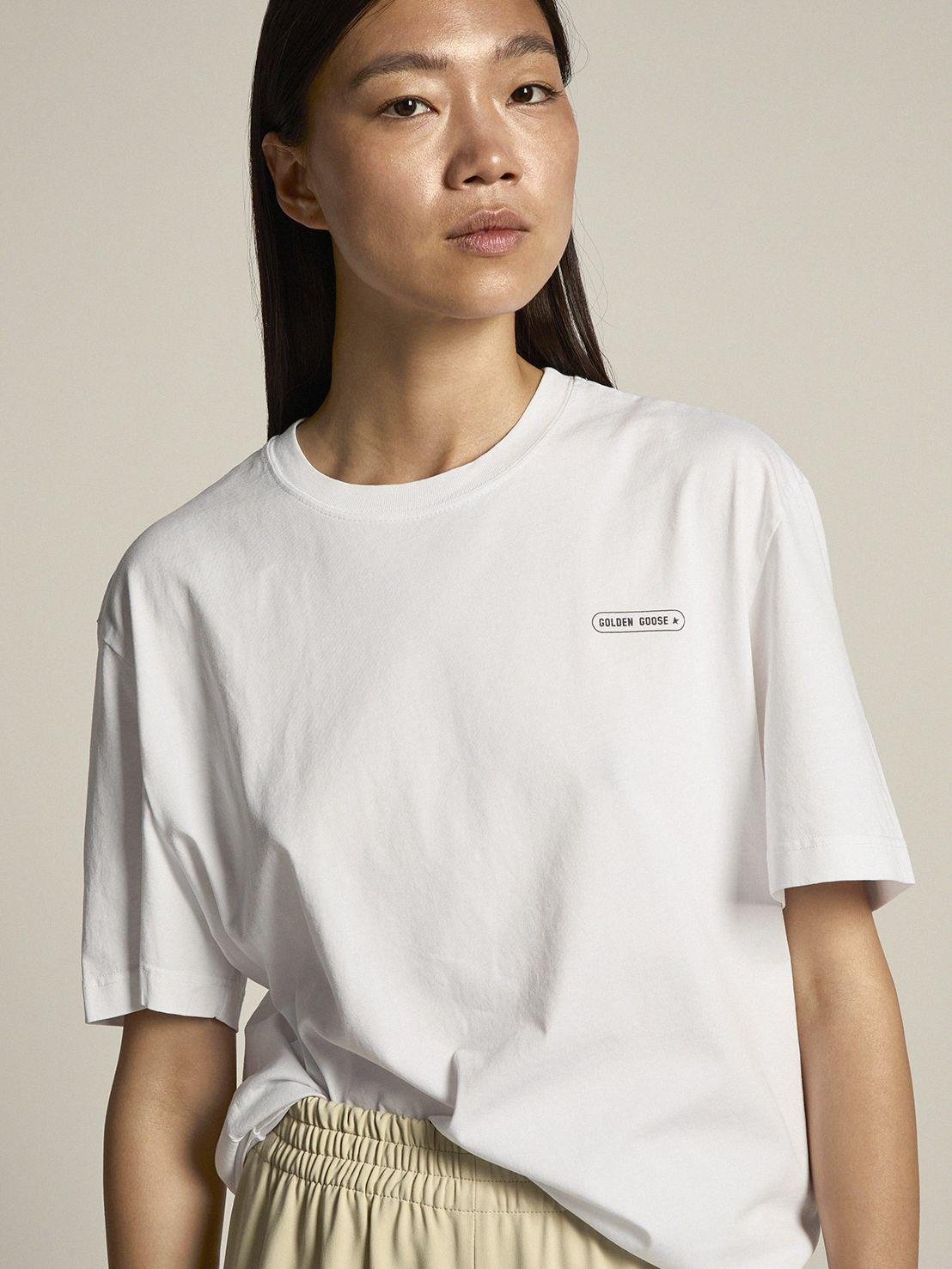 White T-shirt Game EDT Capsule Collection with contrasting logo