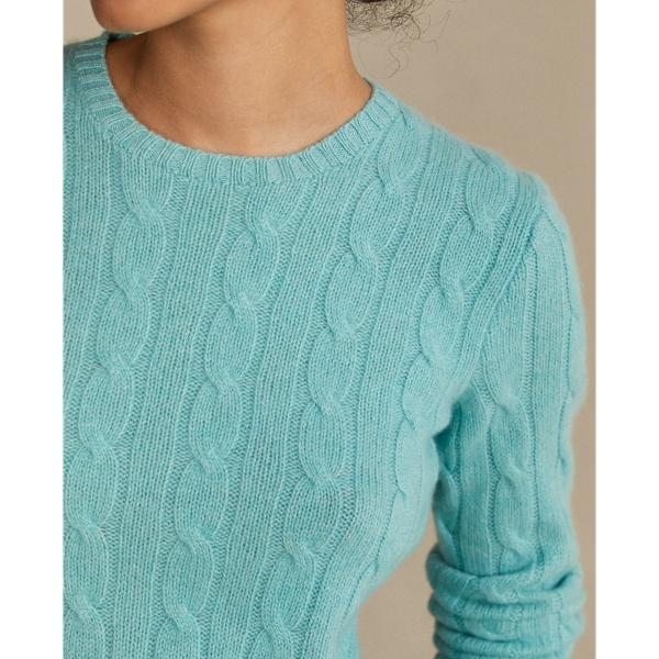 Cable-Knit Cashmere Sweater 4