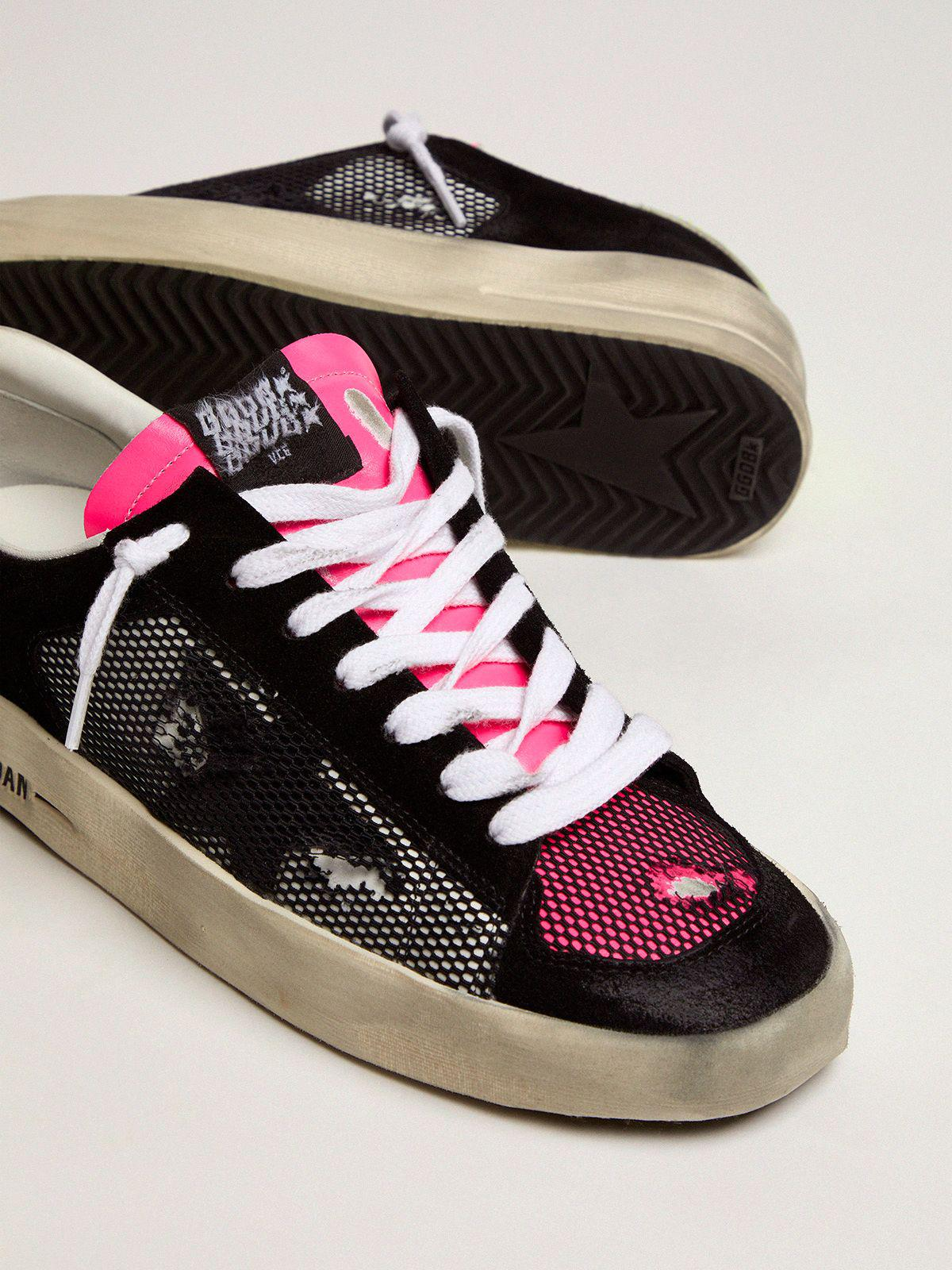 Women's Limited Edition Stardan sneakers in fuchsia and yellow 2