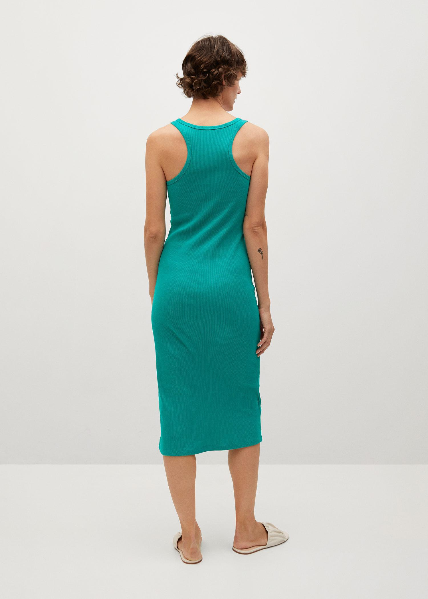 Fitted cotton dress 2