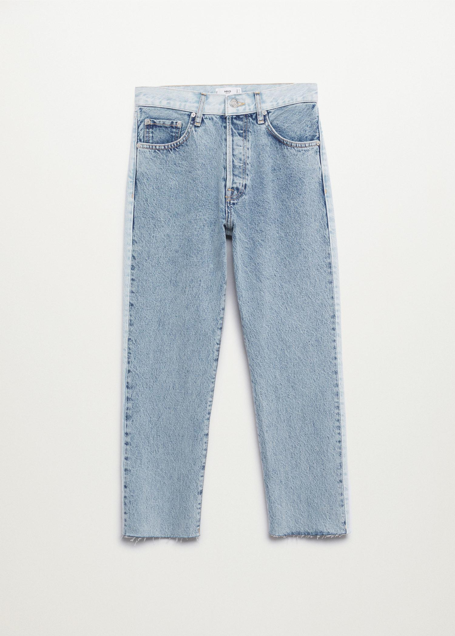 Ankle-length straight-fit jeans 8