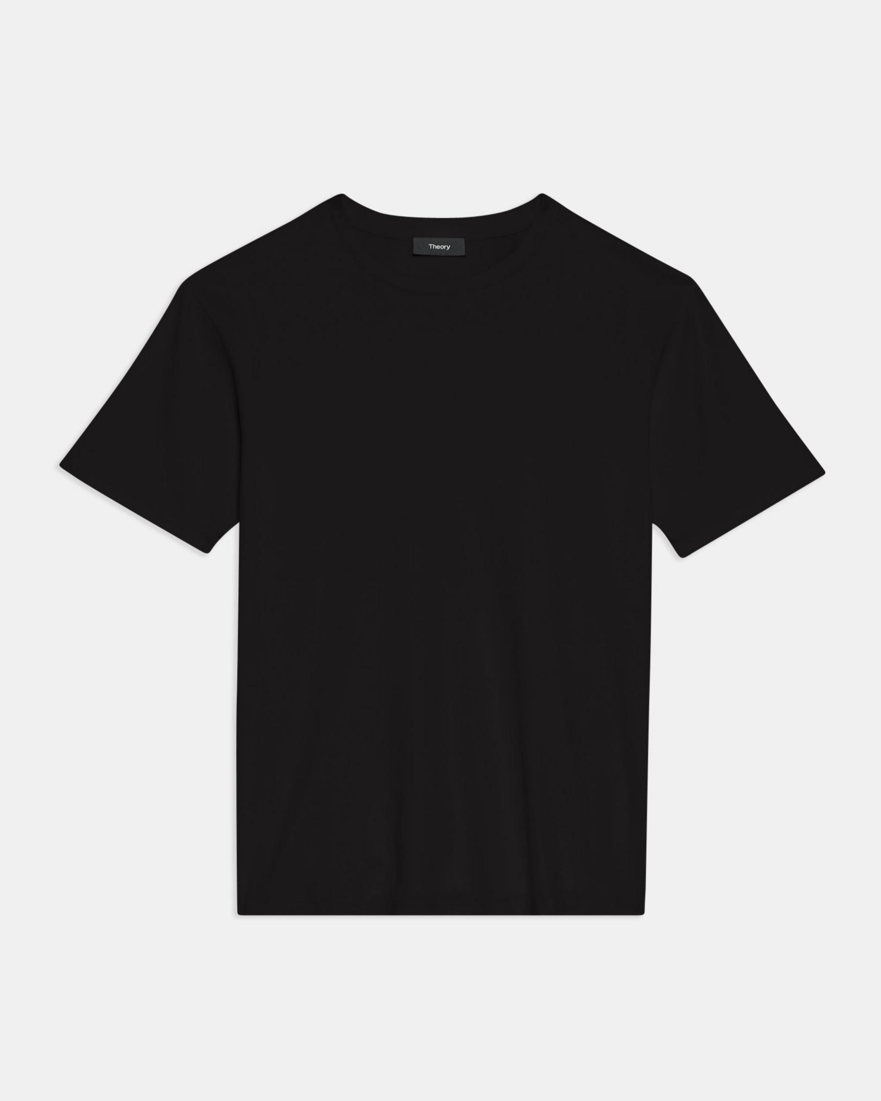 Short-Sleeve Perfect Tee in Cotton Jersey 4