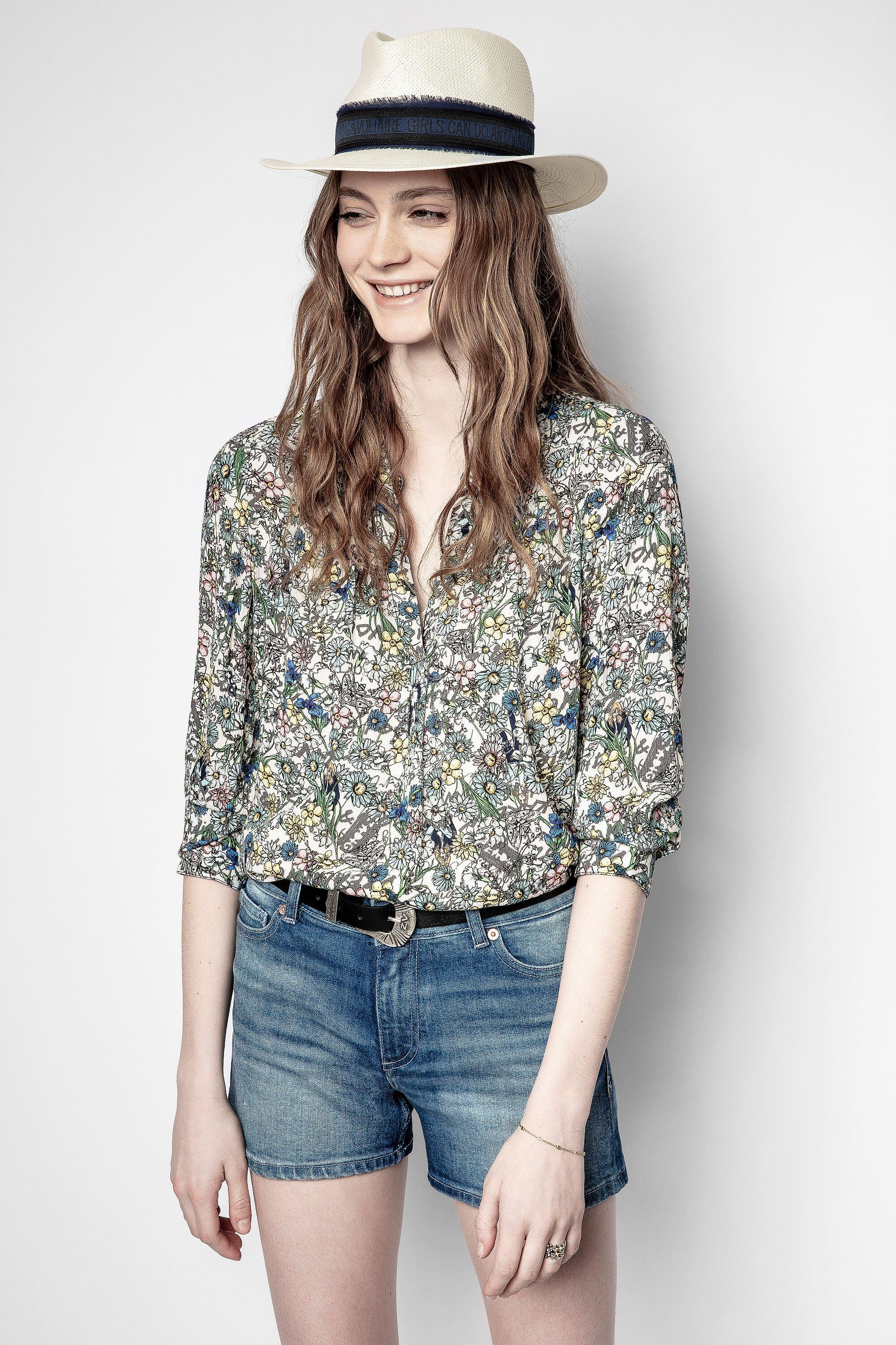 Tink Crinkle Flower Tunic