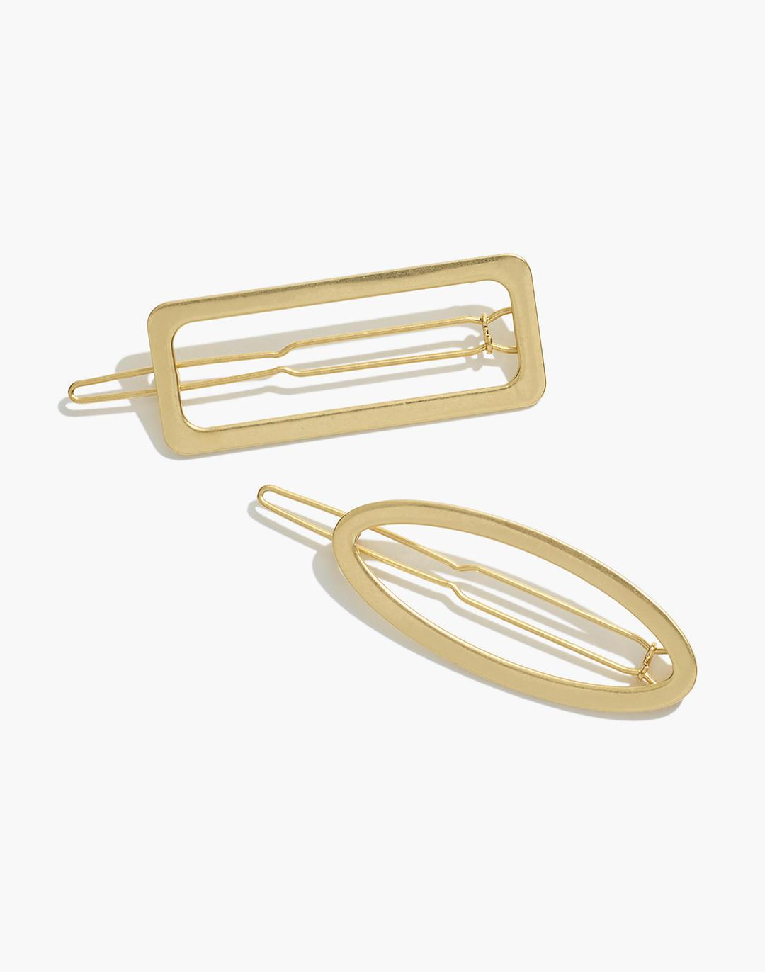 Two-Pack Open Shape Hair Clips